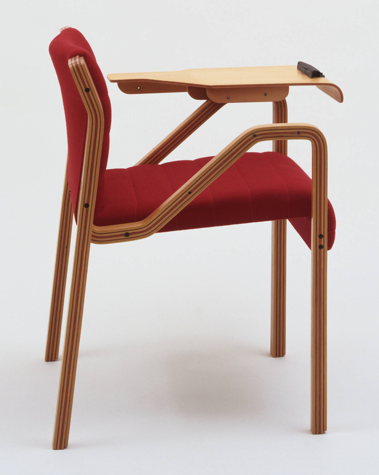 Hector Coronado. K Armchair with Writing Wing. 1978