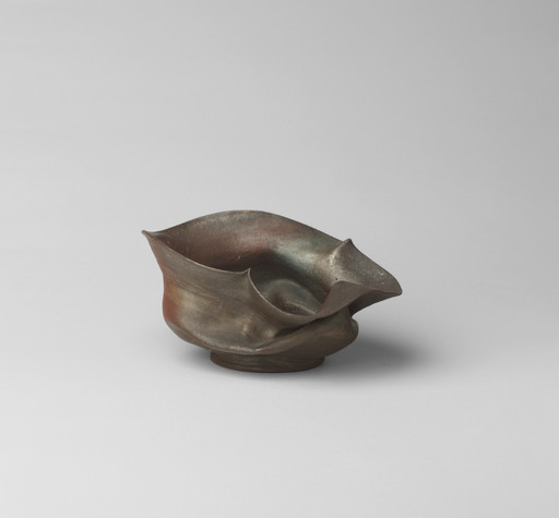 George Ohr. Bowl. c. 1900