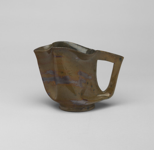 George Ohr. Pitcher. c. 1900