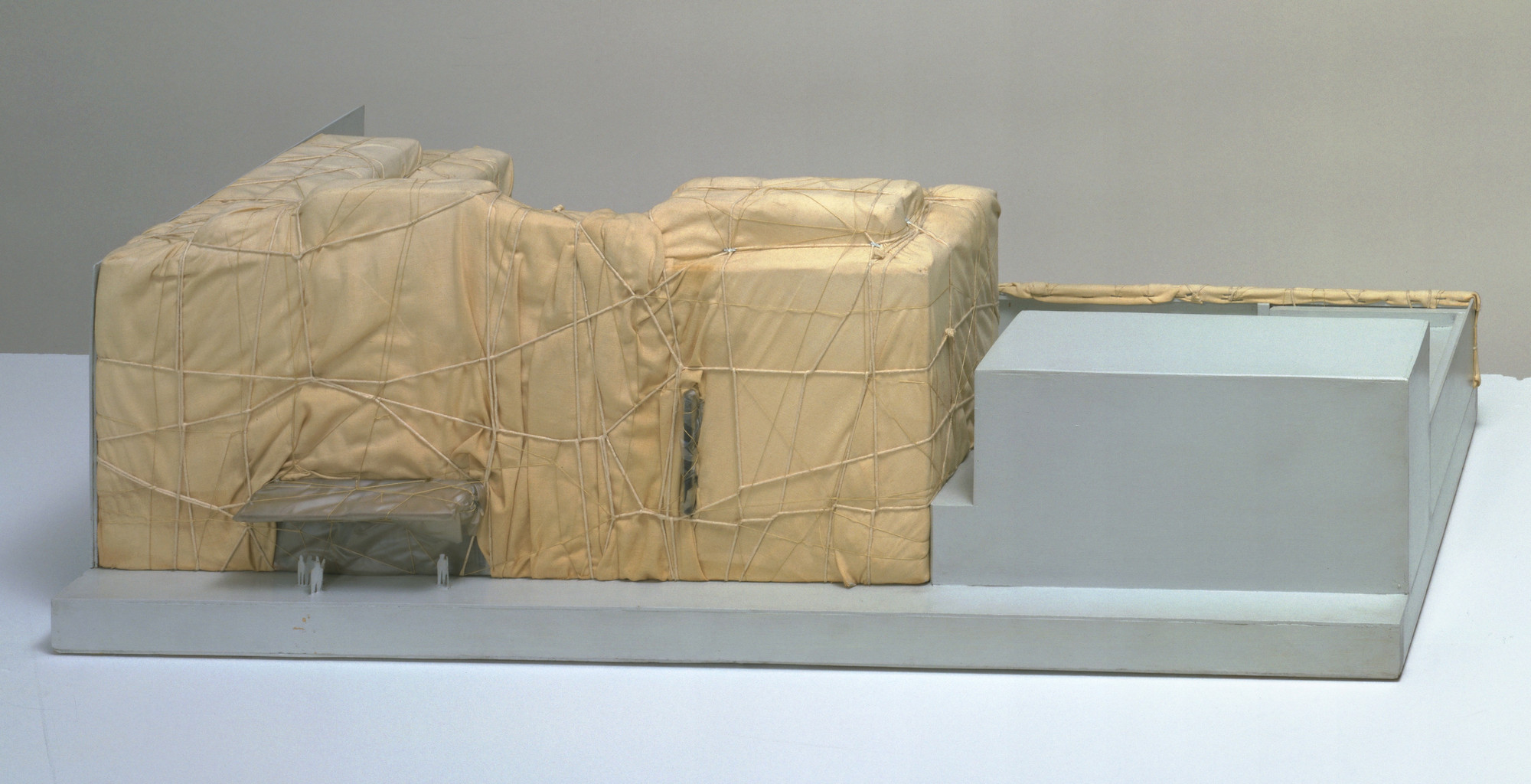 Christo. The Museum of Modern Art Packaged. 1968