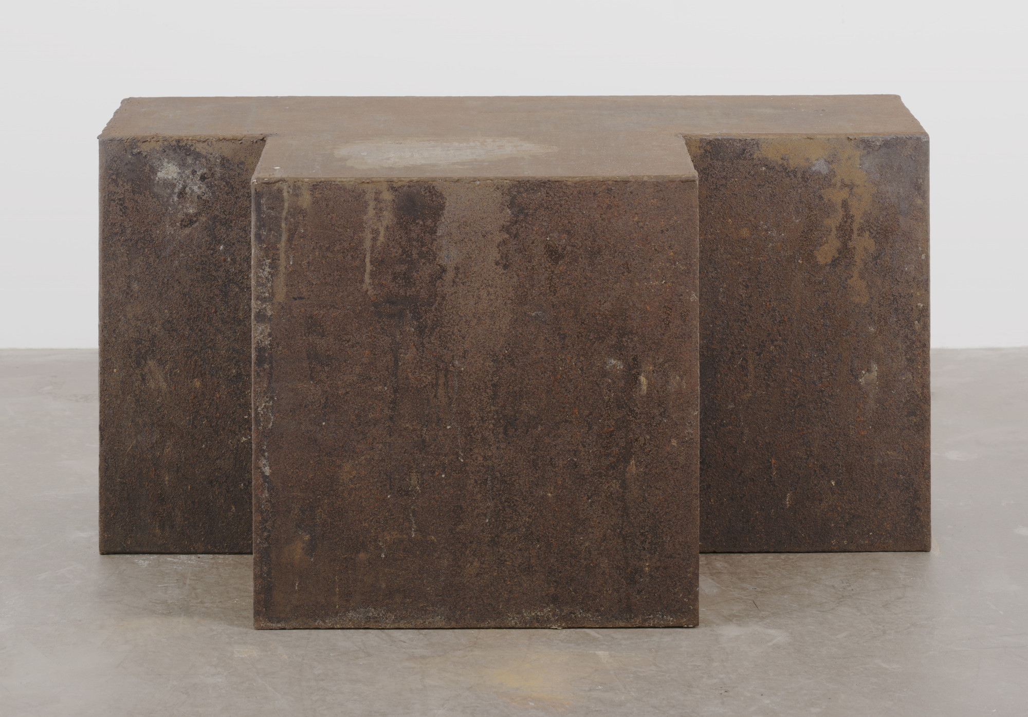 "Joseph Beuys. Iron Chest from ""Vacuum-Mass"". Cologne, October 14, 1968"