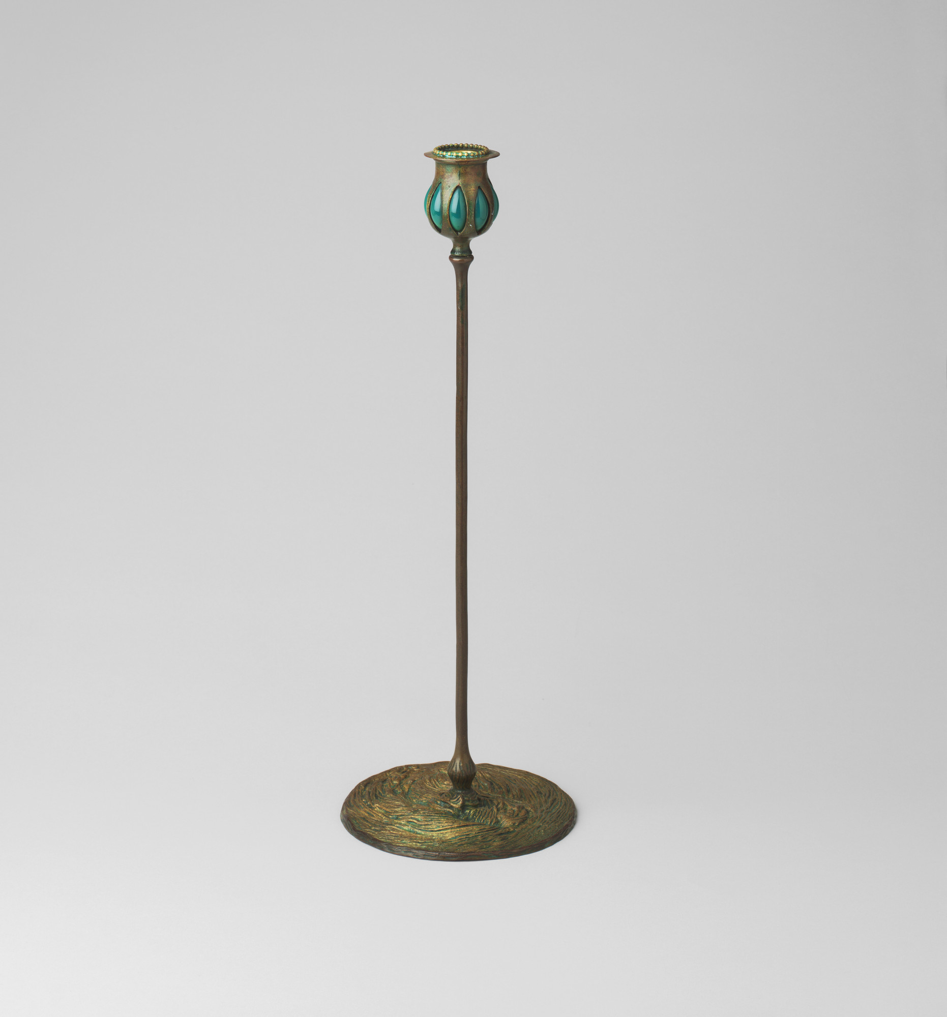 Louis Comfort Tiffany. Candlestick. c. 1900