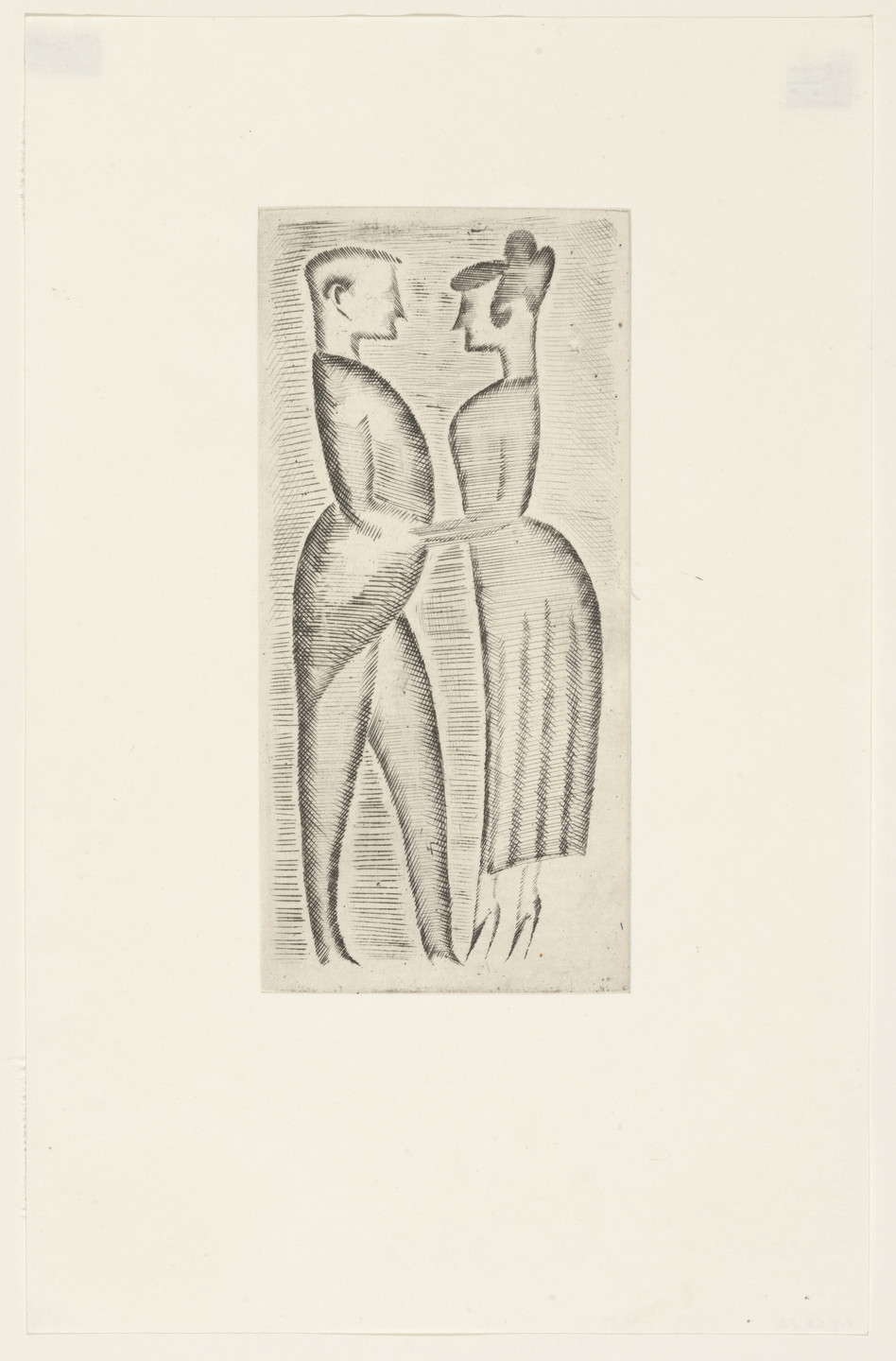 Elie Nadelman. Tango from The Drypoints of Elie Nadelman. 1951, published 1952