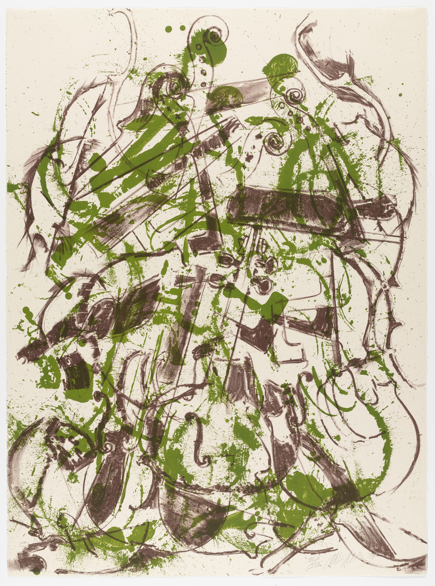 Arman. Untitled from Homage to Picasso (Hommage à Picasso). 1974, published 1973