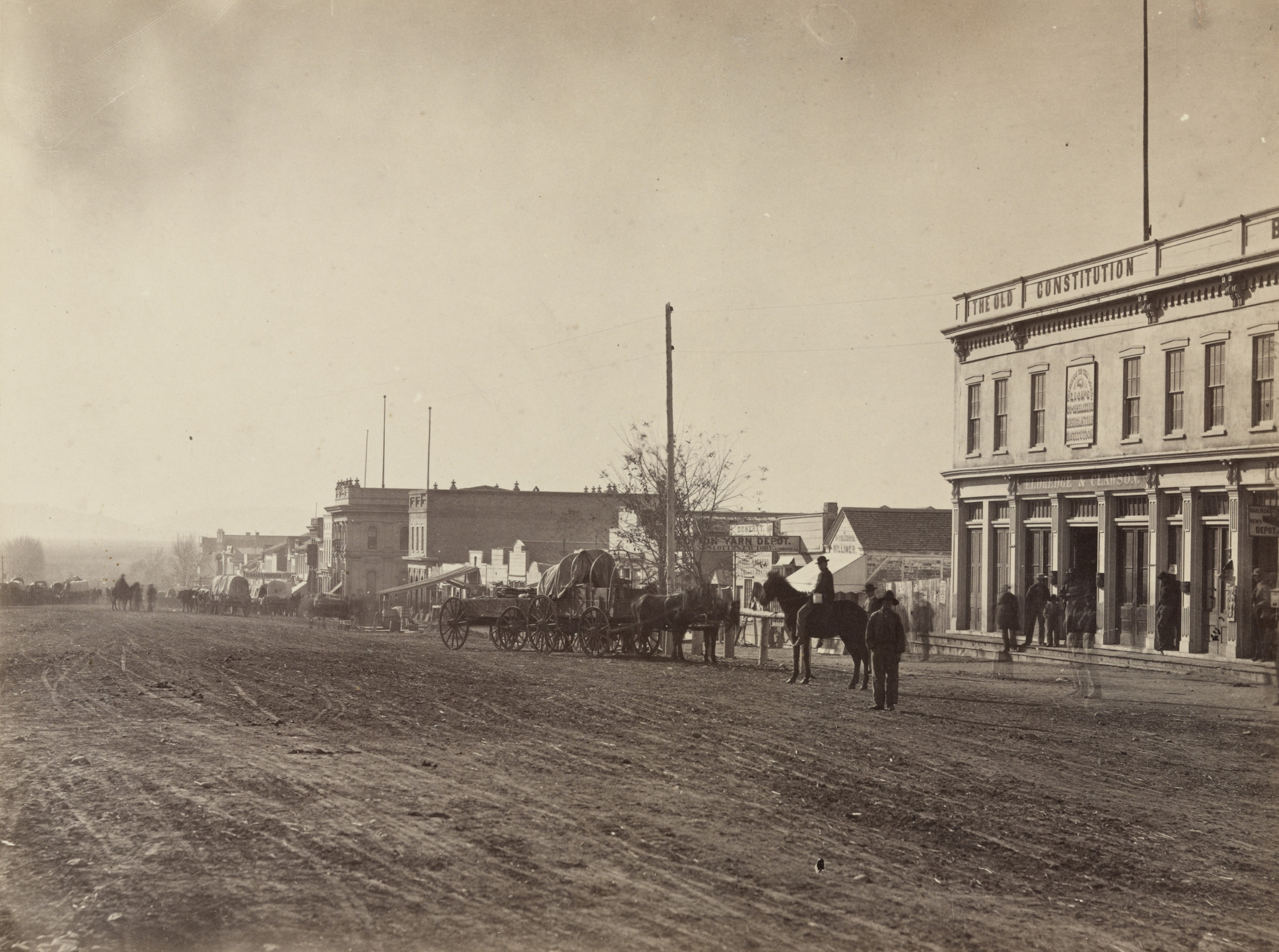 Andrew Joseph Russell. Zion's Cooperative Mercantile Institution. 1868