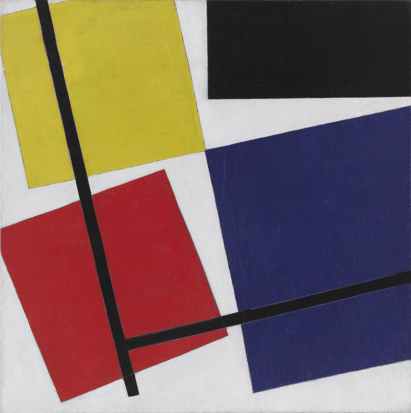 Theo van Doesburg. Simultaneous Counter-Composition. 1929-30