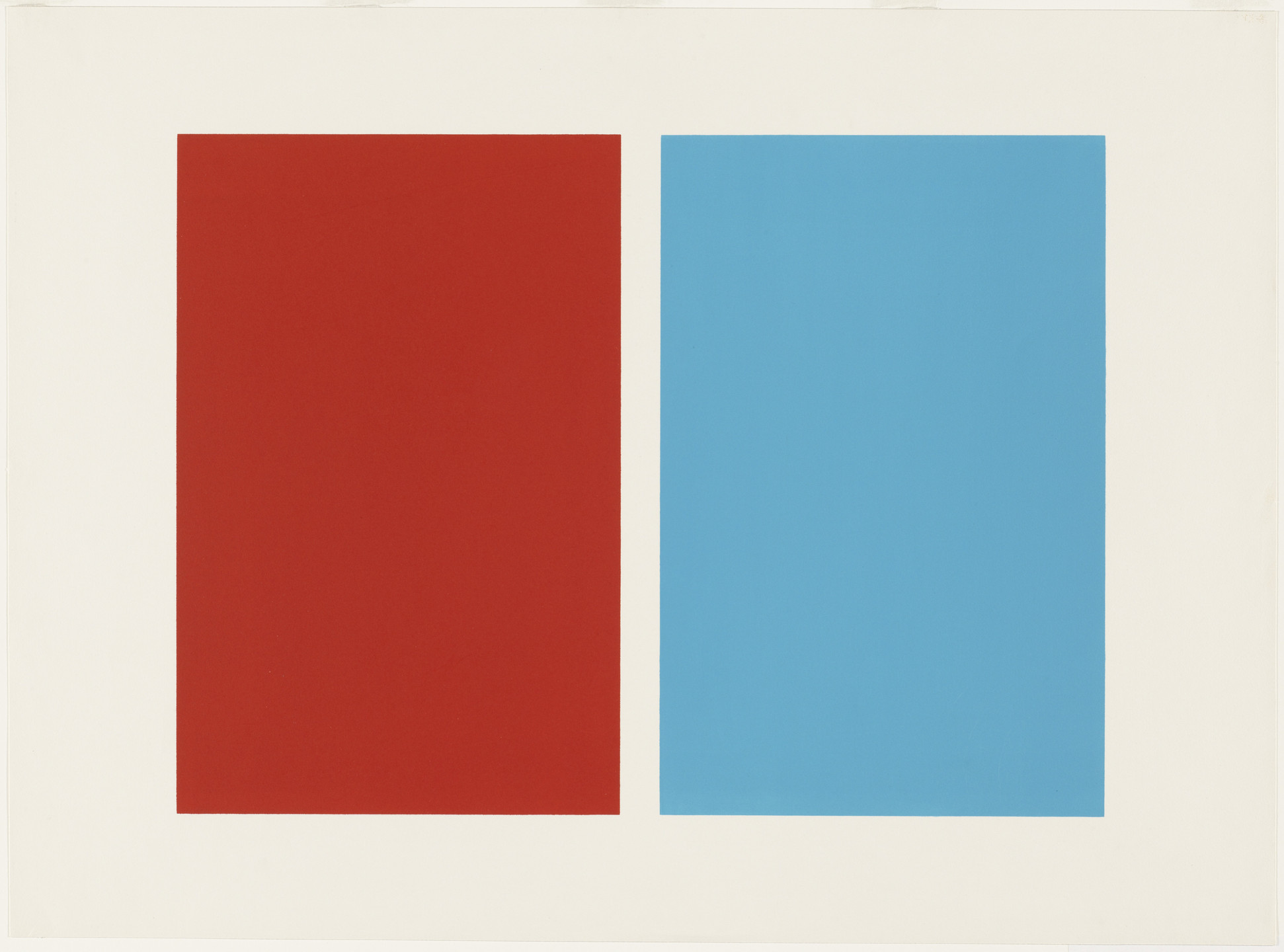 John McLaughlin. Untitled. 1963