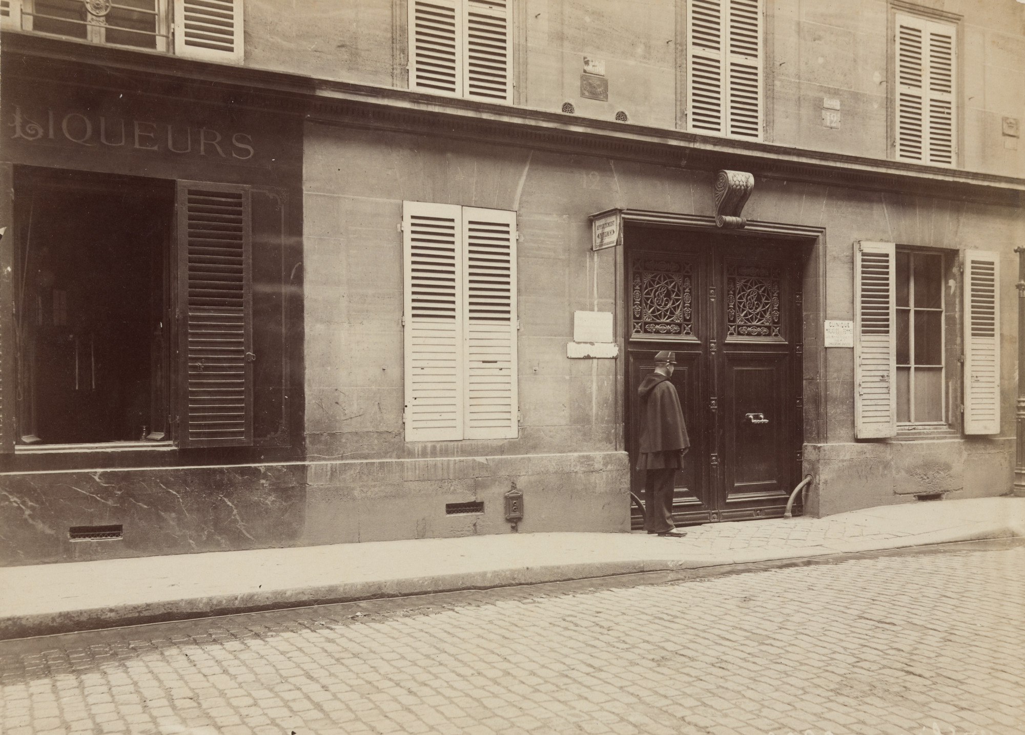 Prefecture of Police, Paris. Rue Blanc 12, April 29, 1895, After the Crime. 1895