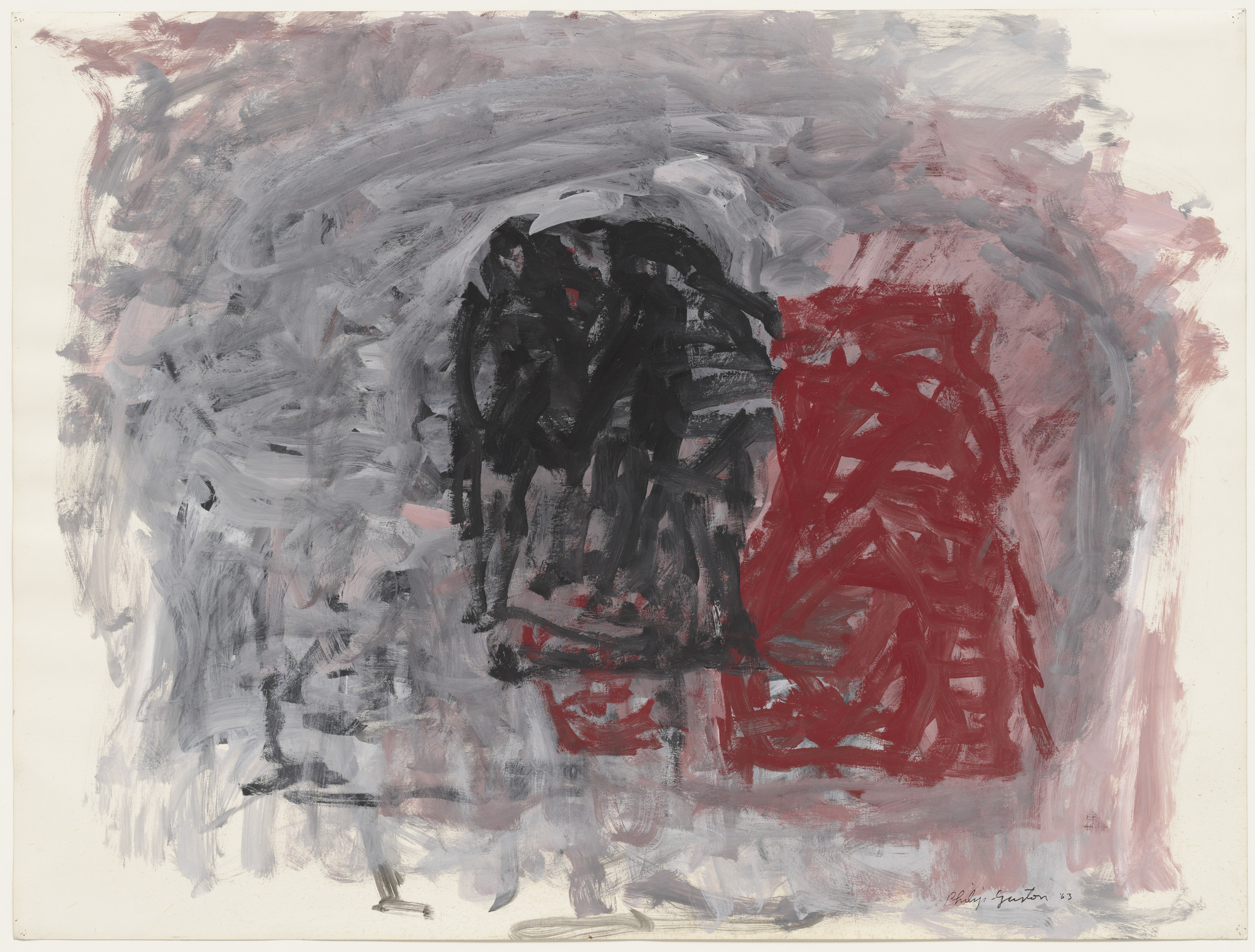 Philip Guston. Untitled. 1963