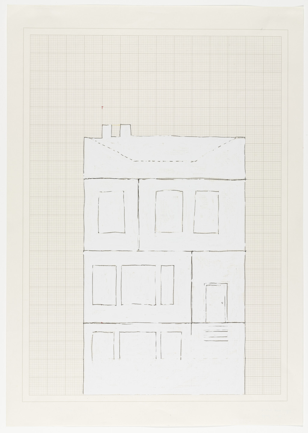 Rachel Whiteread. House. 1992
