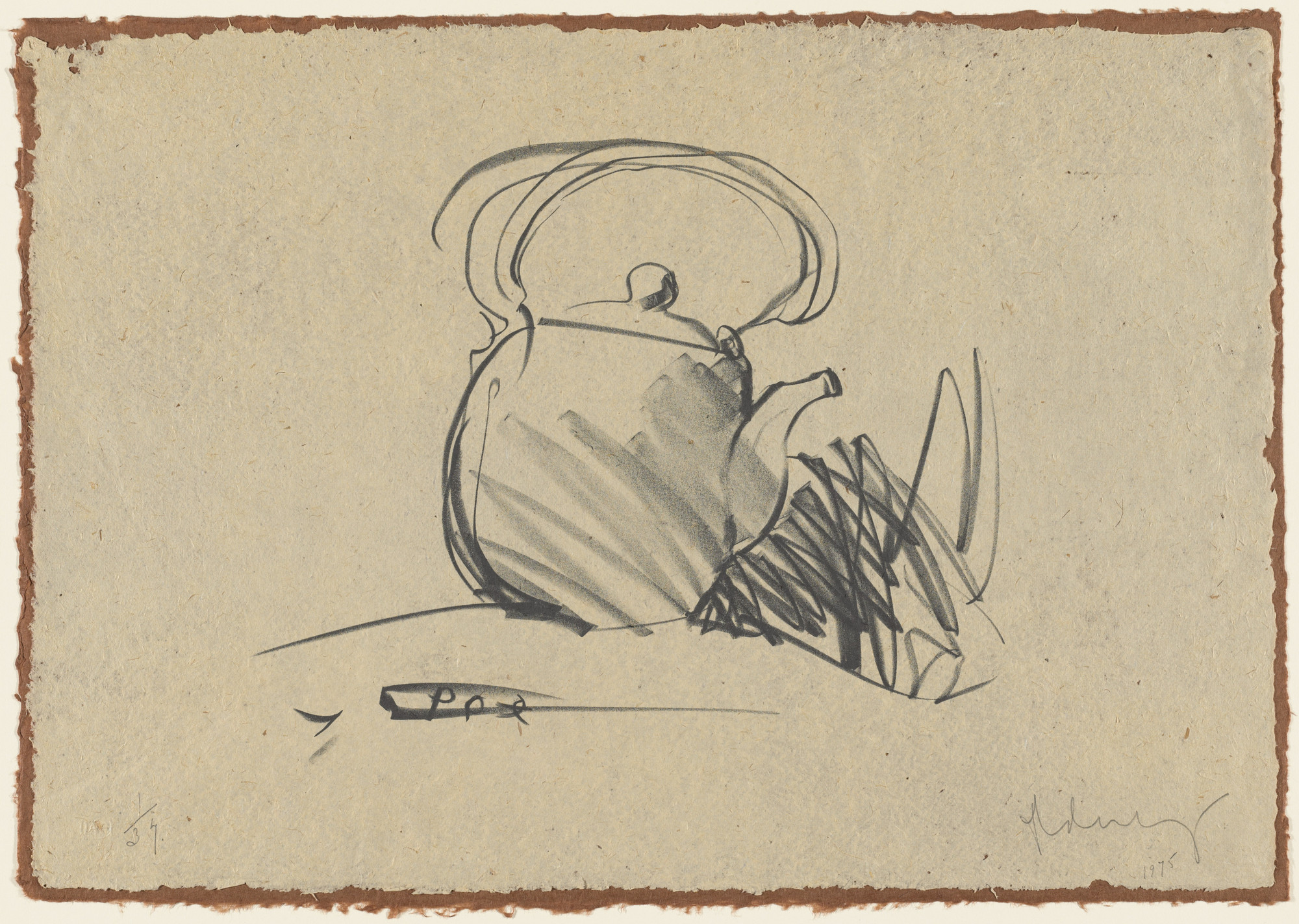 Claes Oldenburg. Tea Pot. 1975