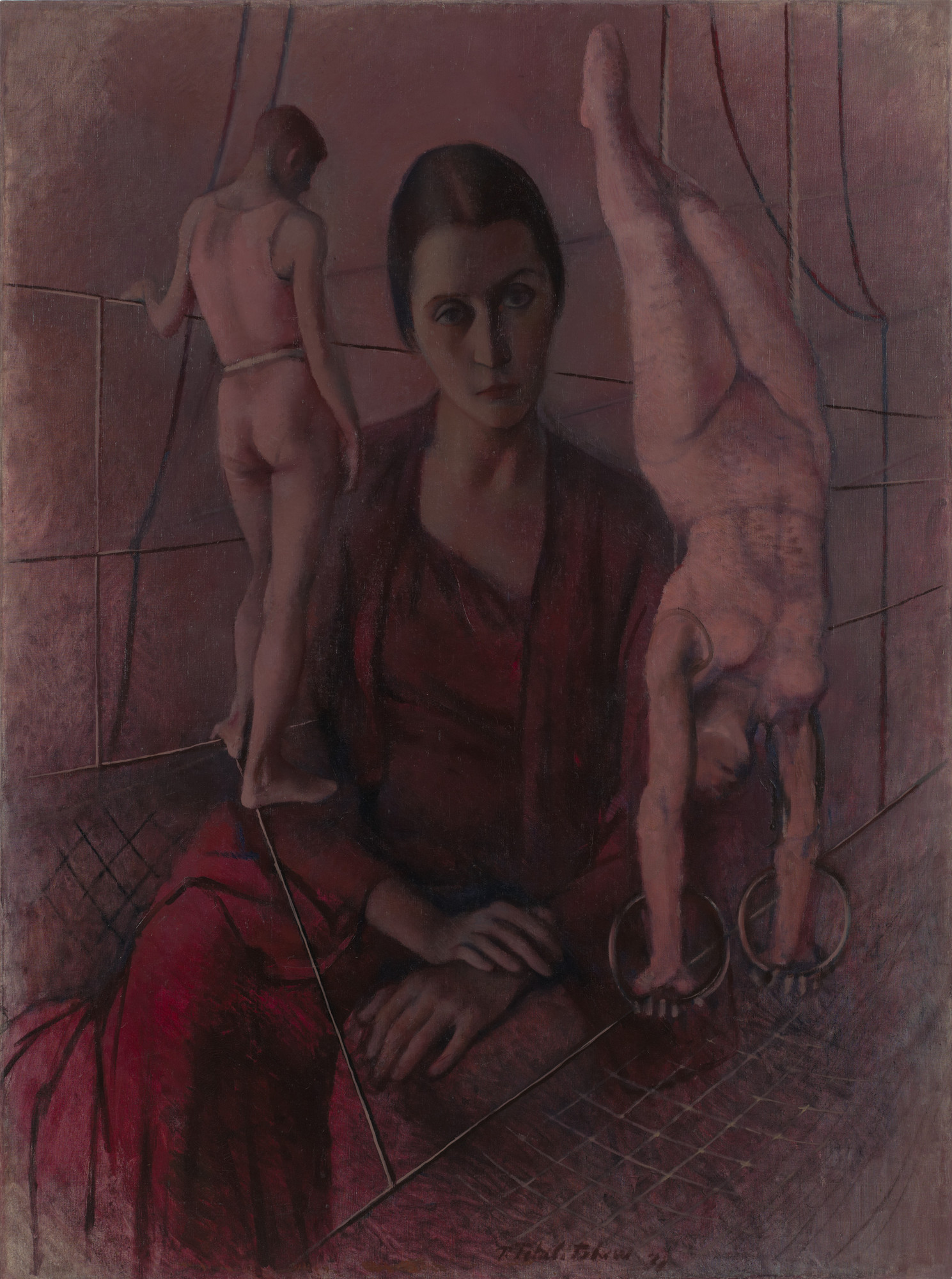 Pavel Tchelitchew. Madame Bonjean. 1931