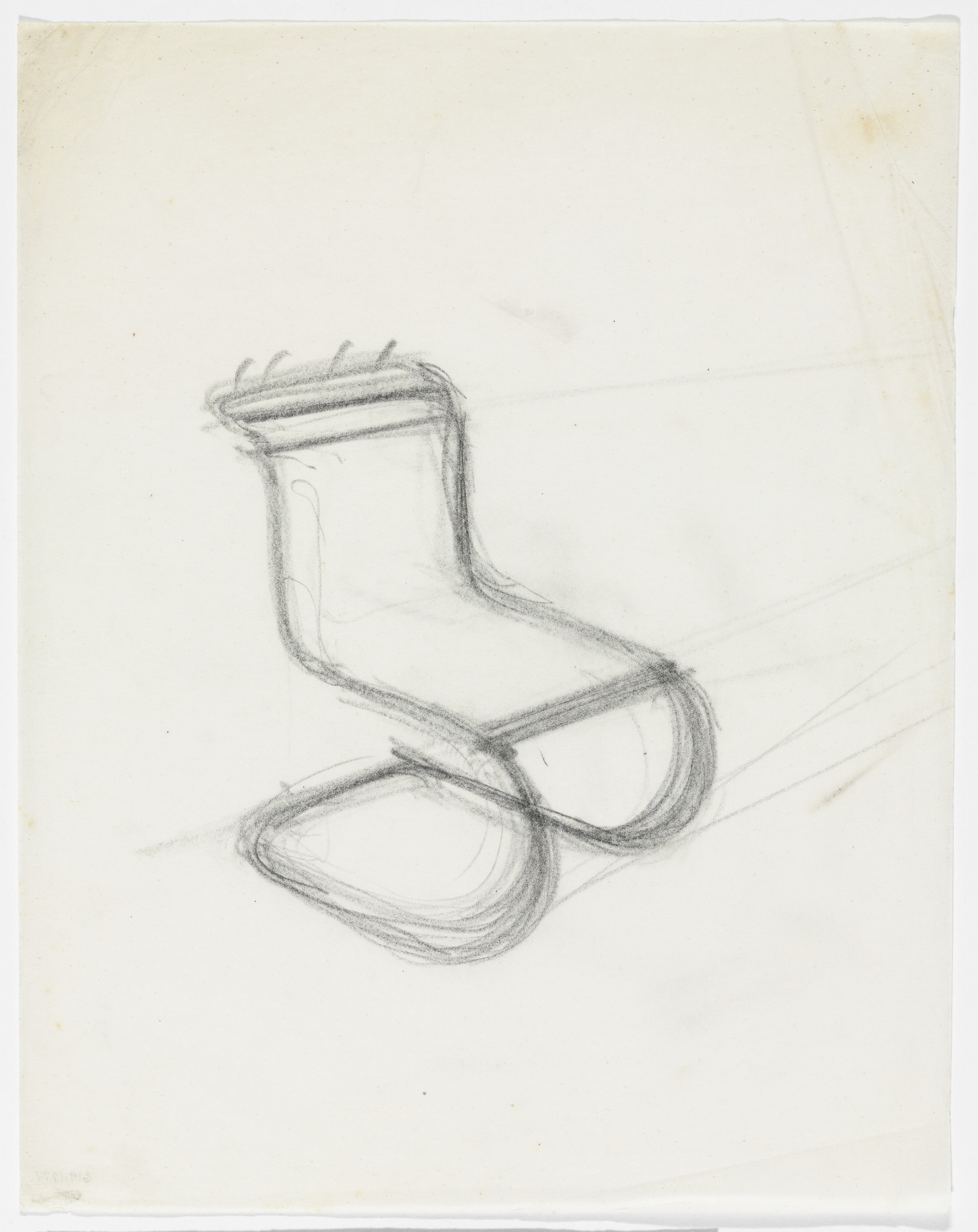Ludwig Mies Van Der Rohe Mr 10 Chair Perspective Sketch 1926 46