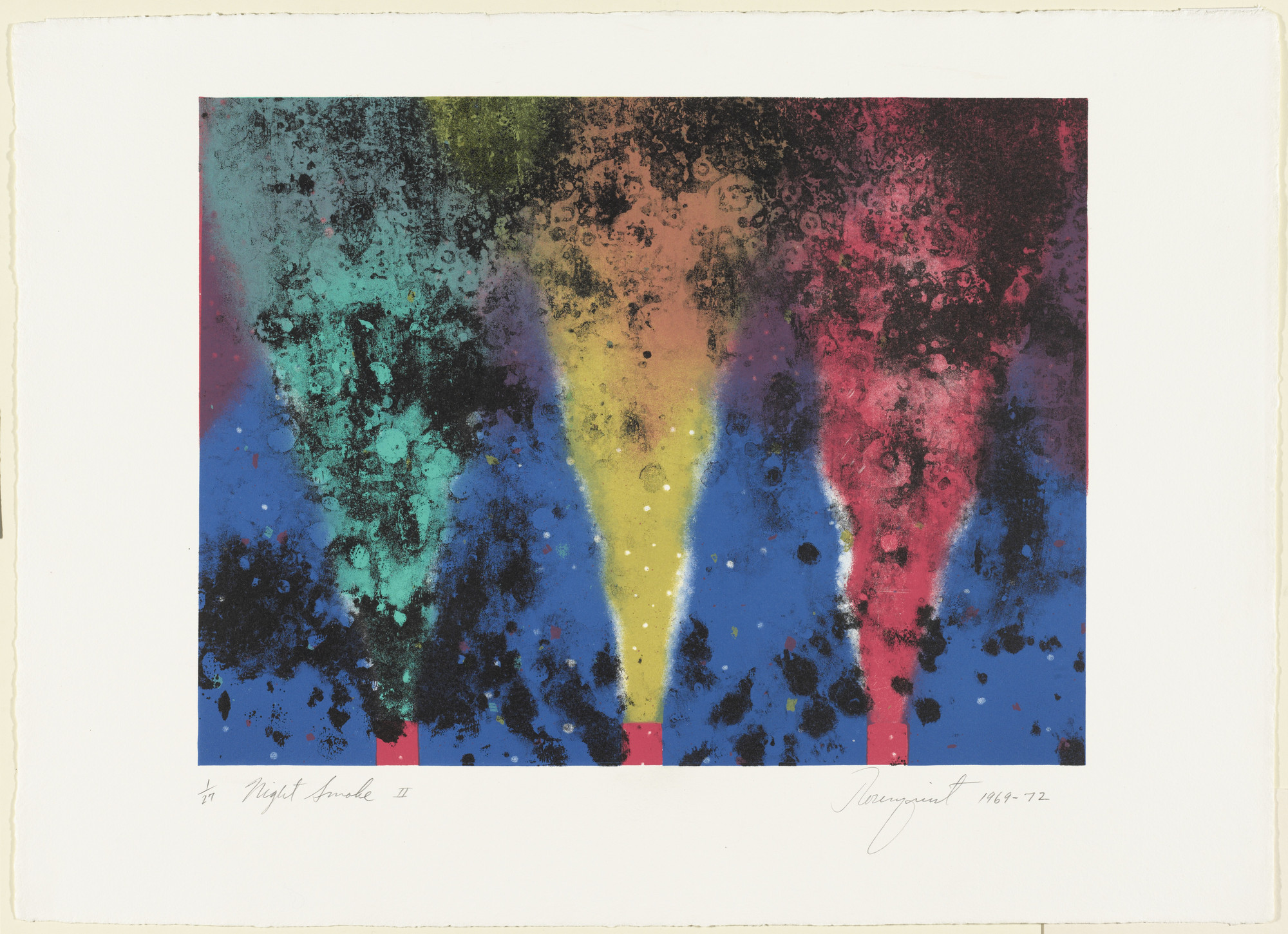 James Rosenquist. Night Smoke II. 1969-72