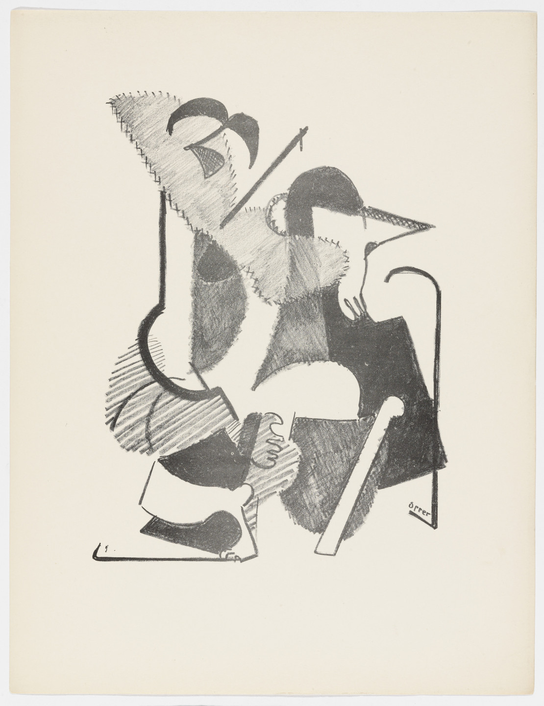 John Opper. Untitled from American Abstract Artists. 1937