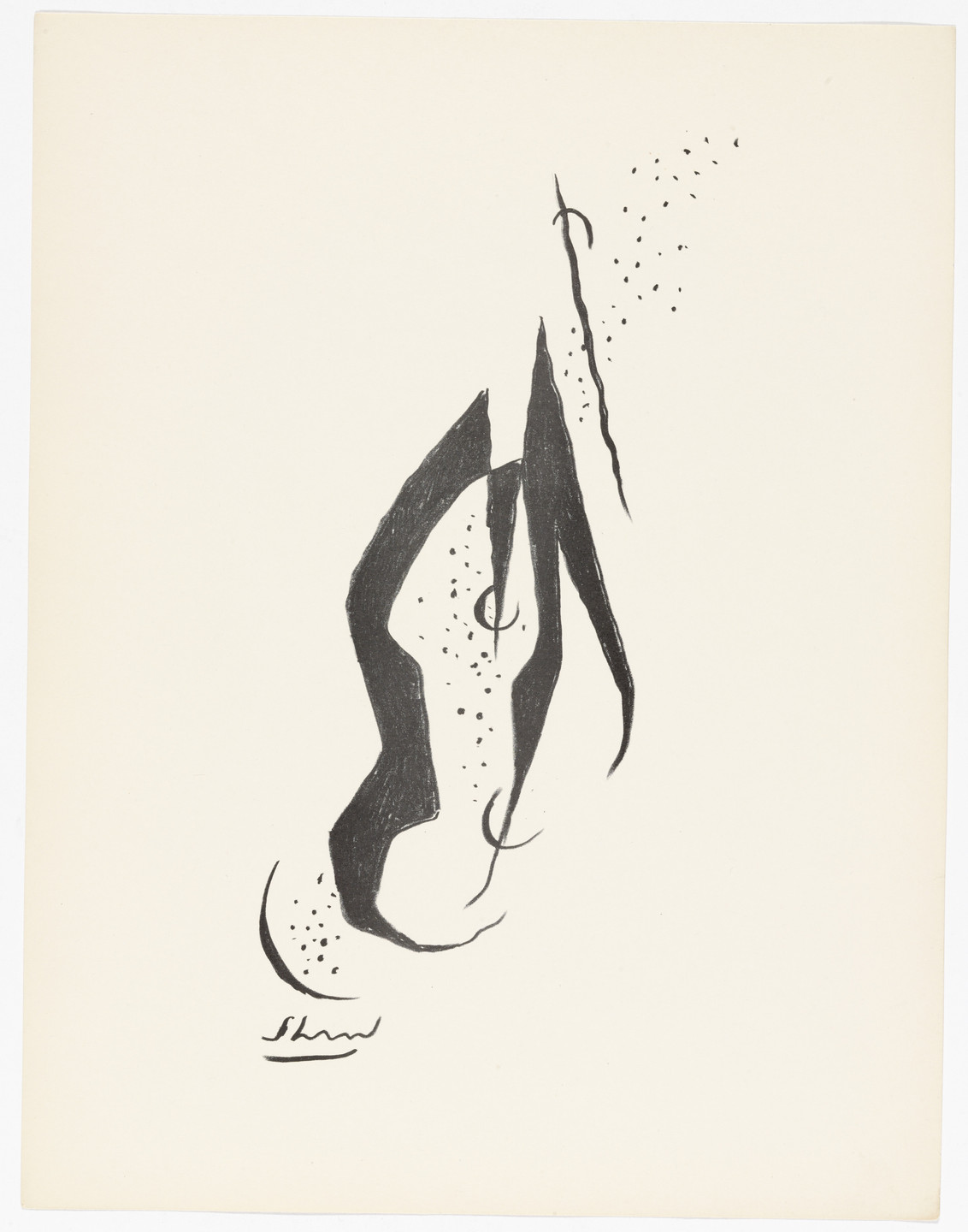 Charles G. Shaw. Untitled from American Abstract Artists. 1937