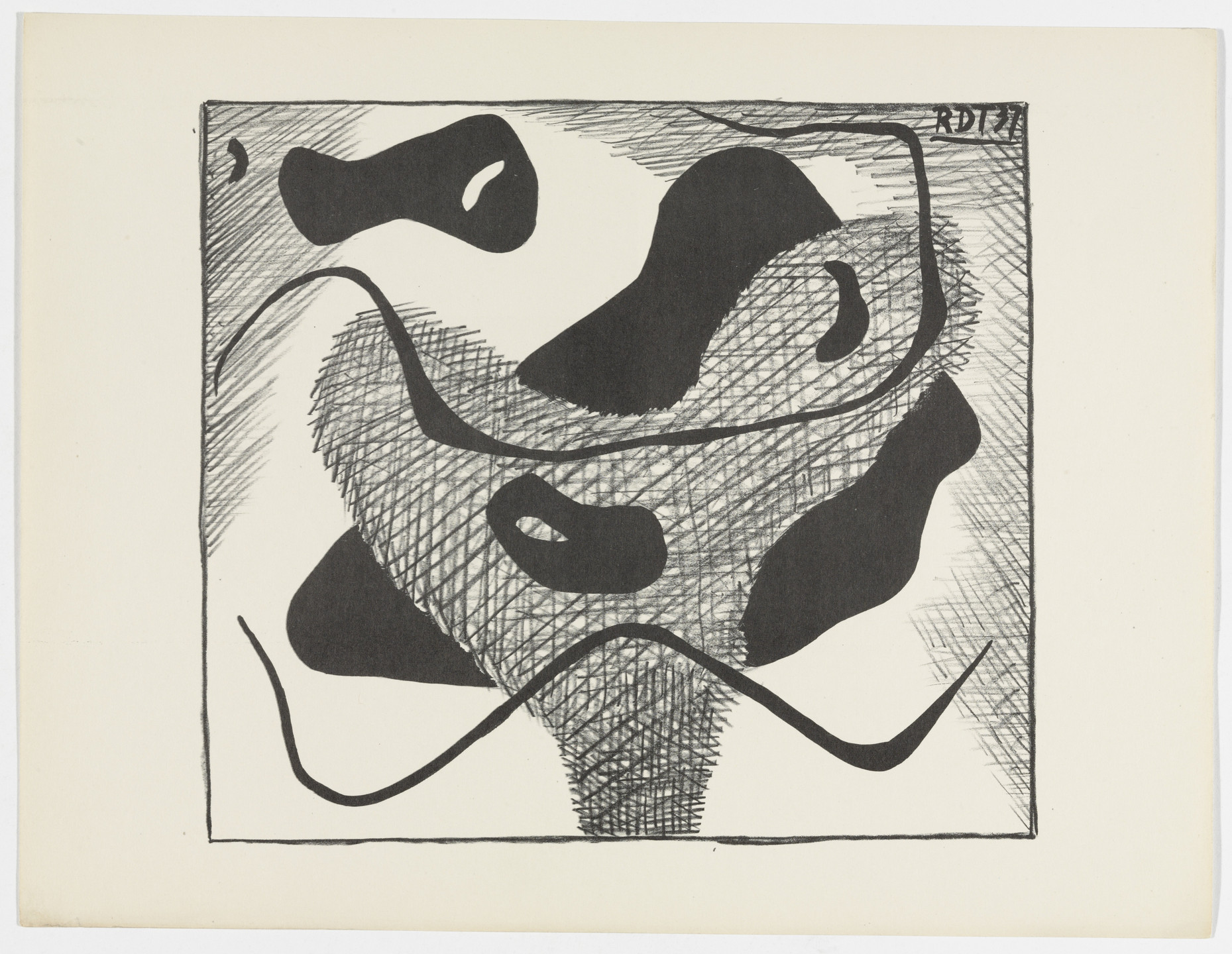 Rupert D. Turnbull. Untitled from American Abstract Artists. 1937