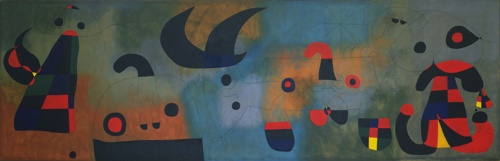 Joan Miró. Mural Painting. Barcelona, October 18, 1950-January 26, 1951