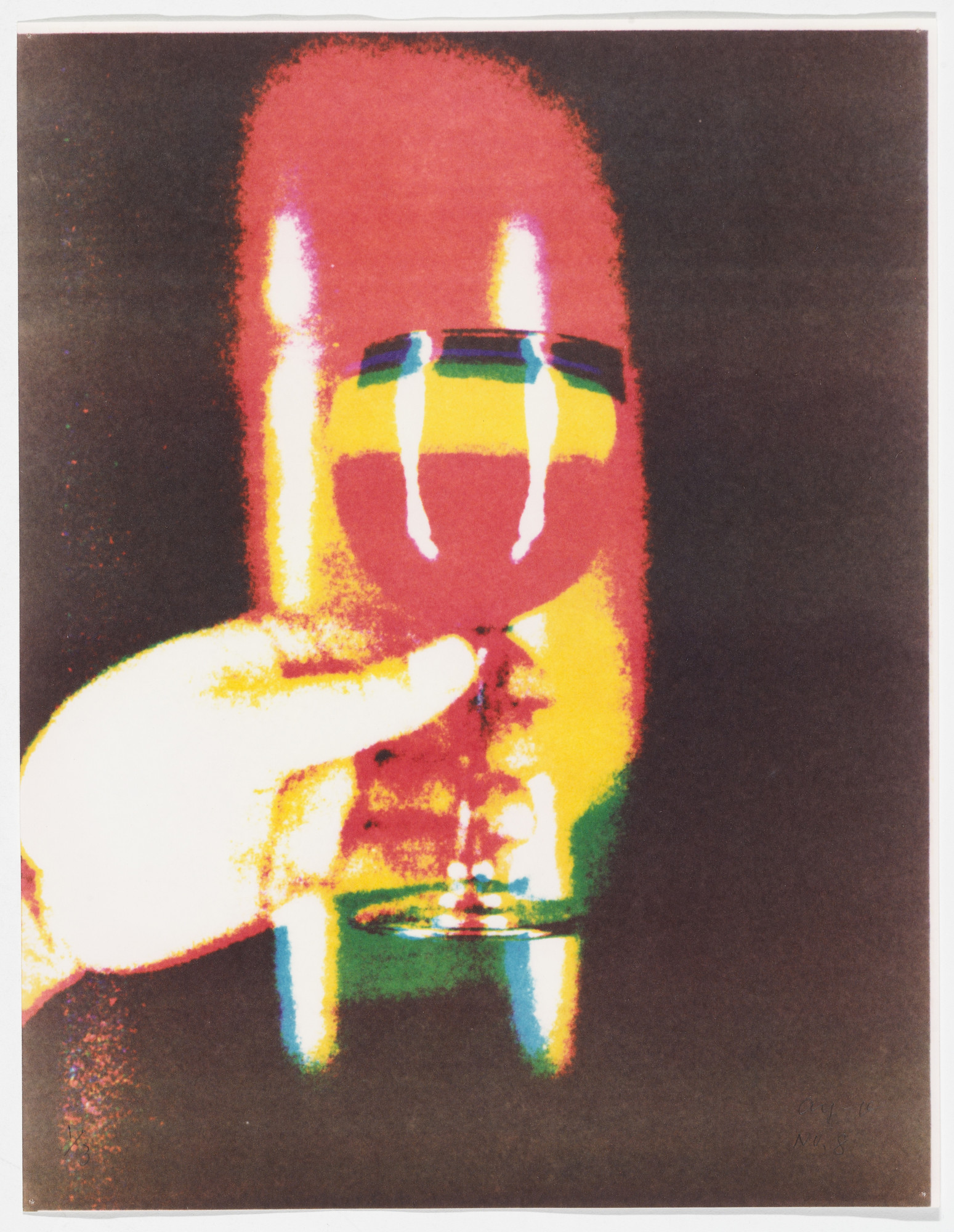 Ay-O. Then, Mr. Ay-O Got Drunk by the Rainbow. 1973