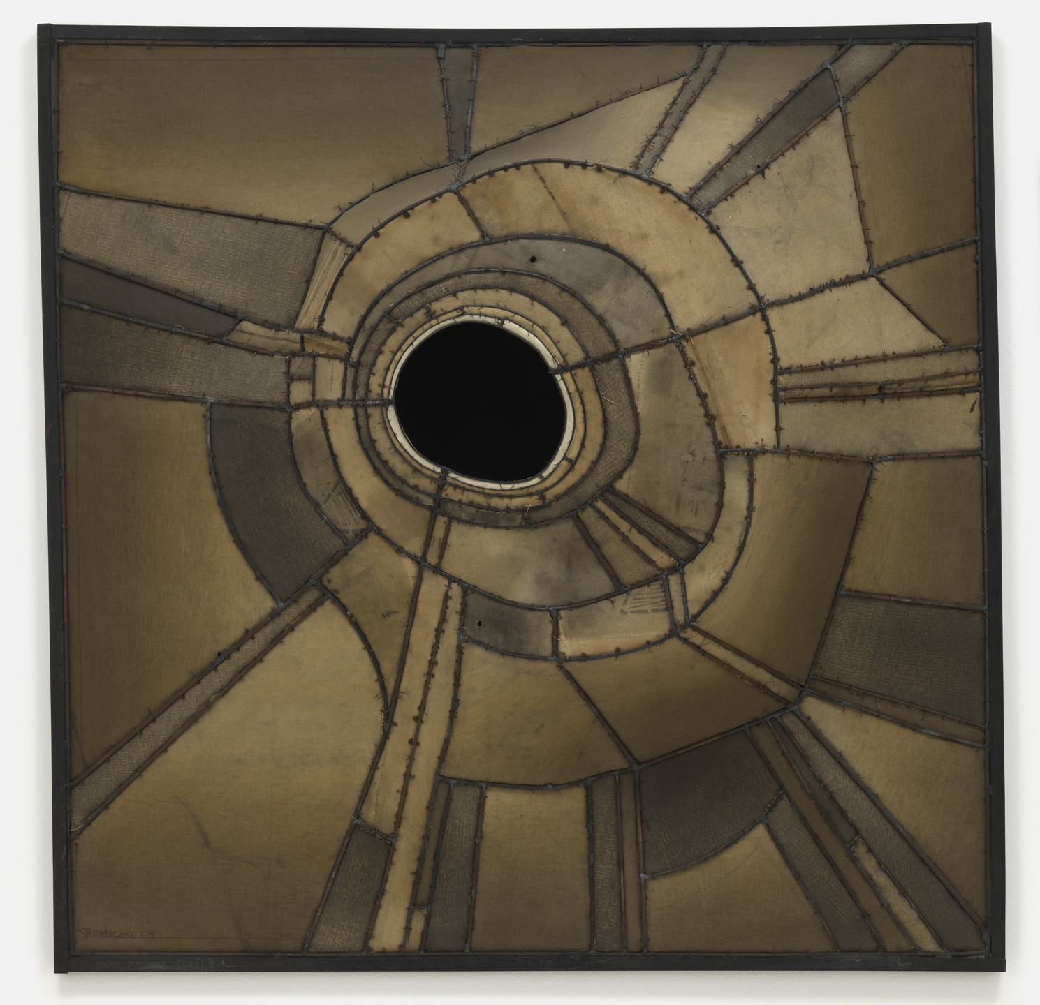 Lee Bontecou. Untitled. 1959