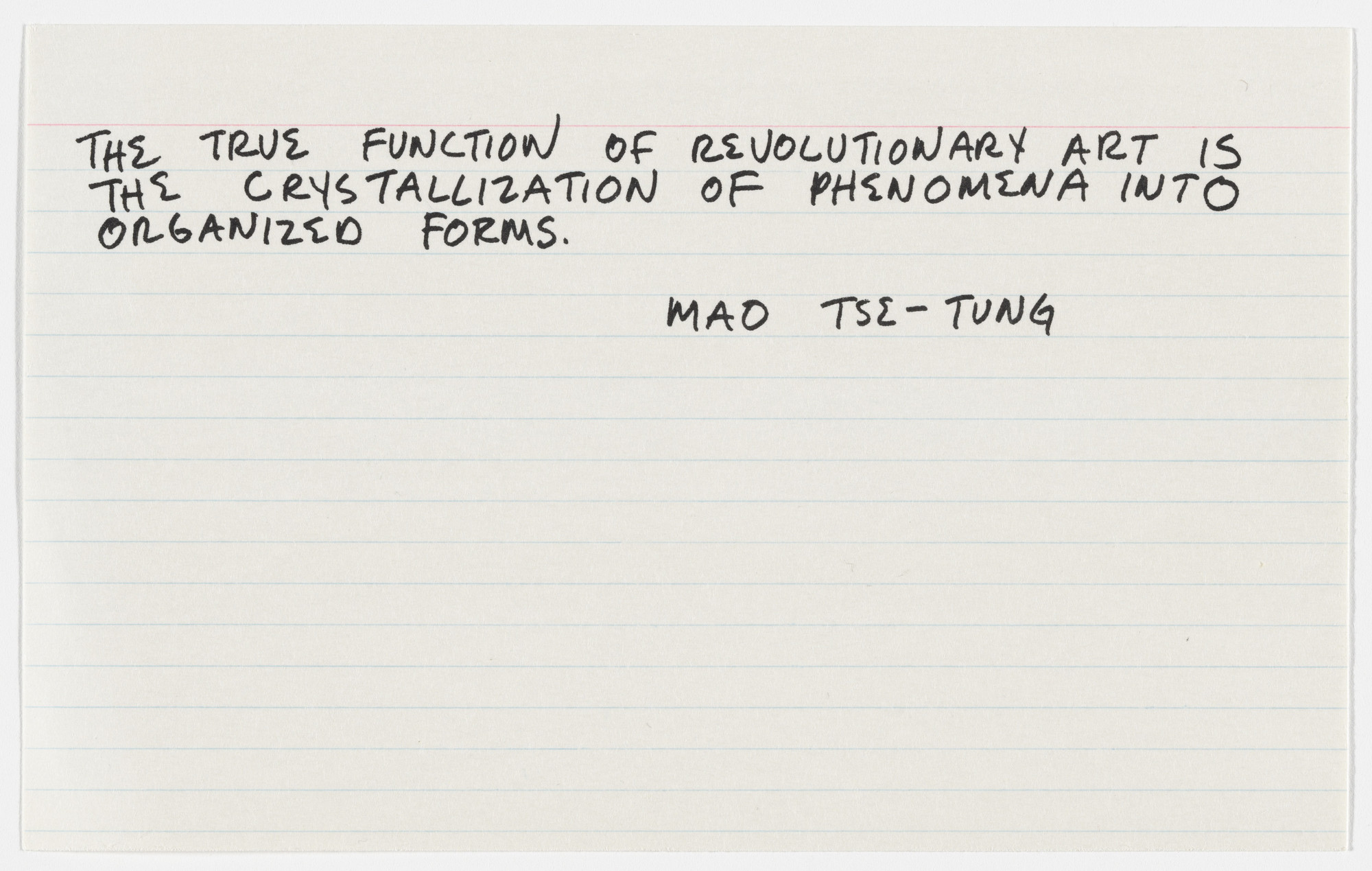 Mel Bochner. Misunderstandings (A Theory of Photography) from Artists & Photographs. 1970