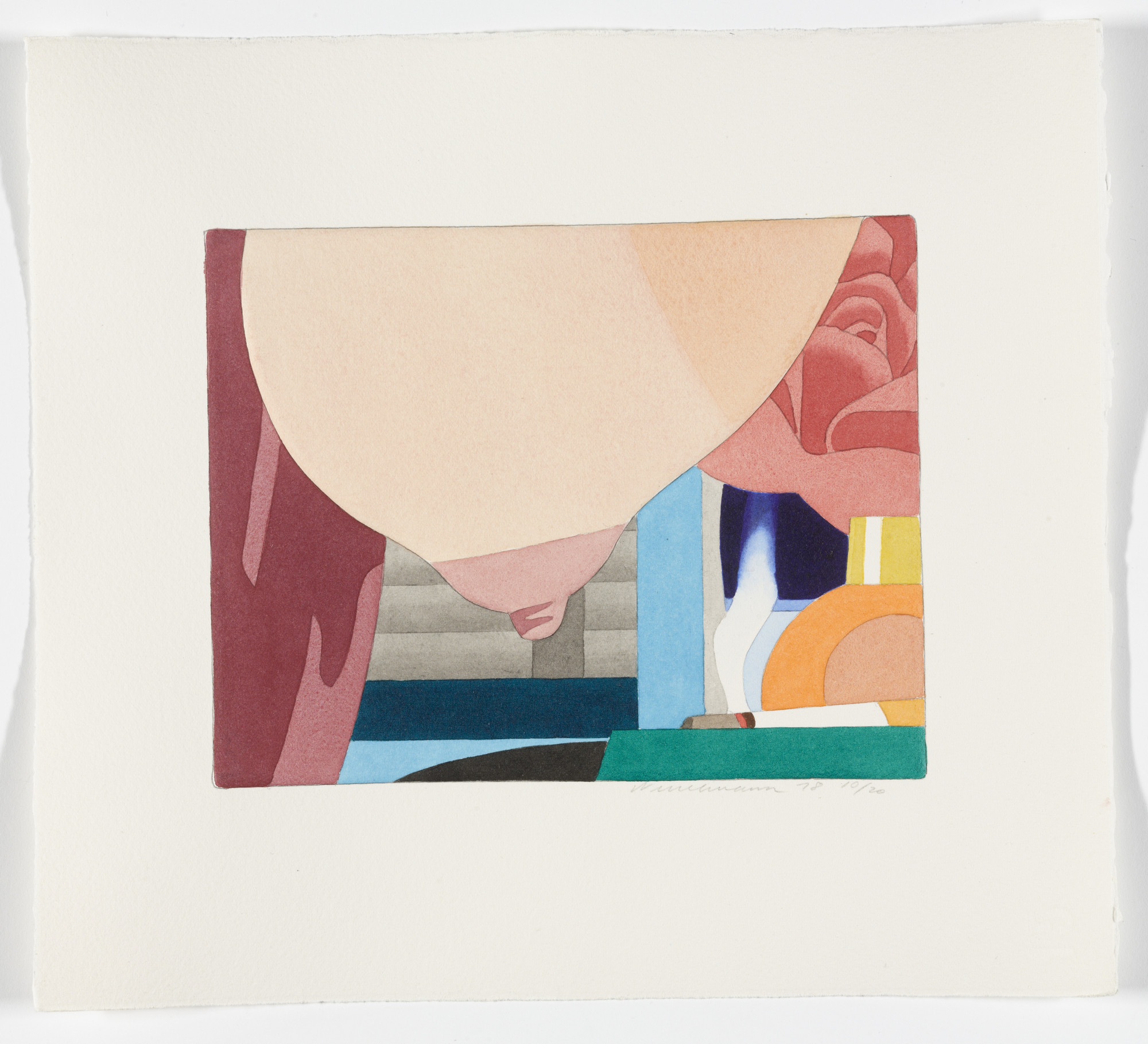 Tom Wesselmann. Untitled from Bedroom Portfolio, _Untitled from_ Bedroom Portfolio. 1978-1979