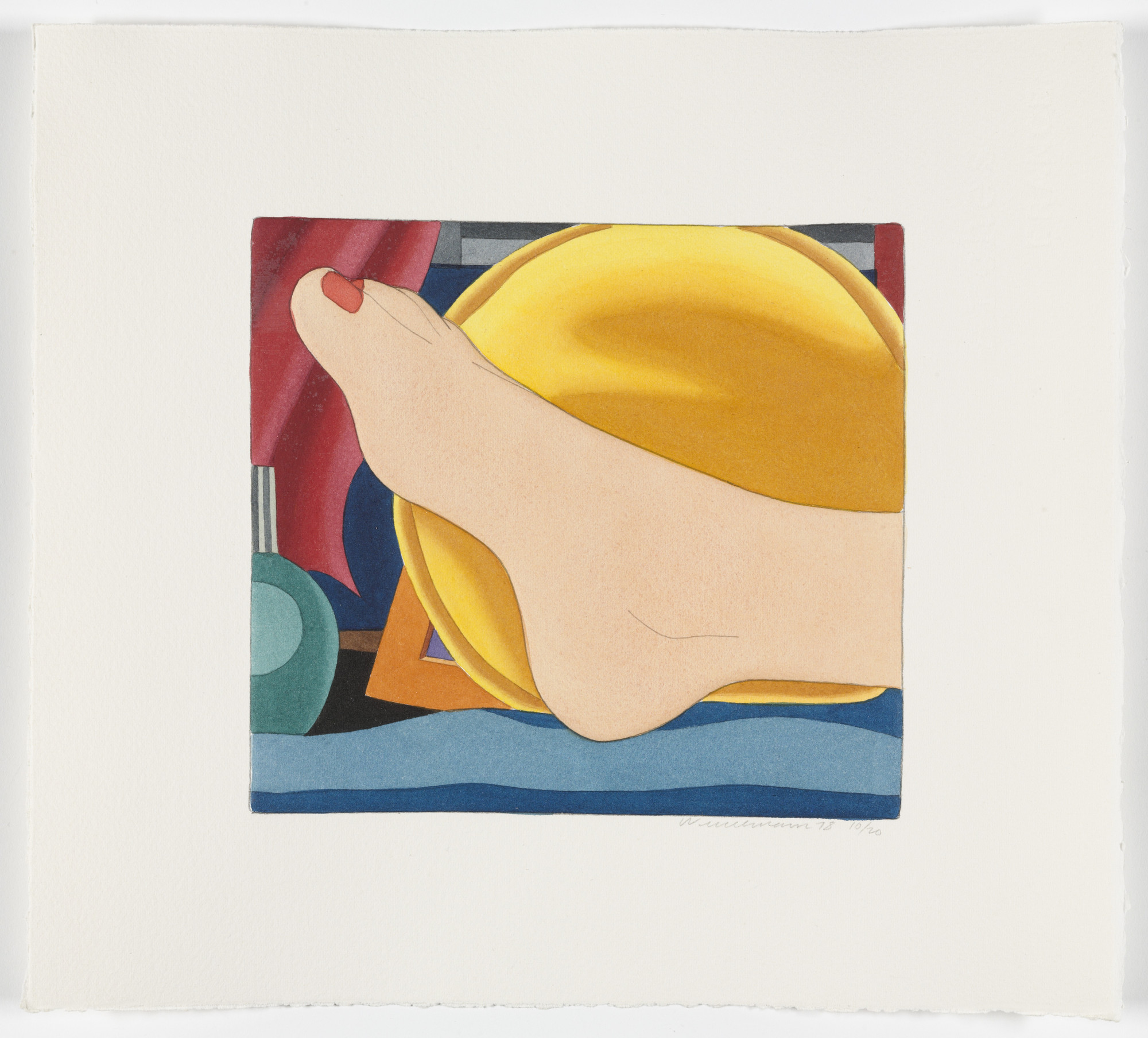 Tom Wesselmann. Untitled from Bedroom Portfolio. 1978-1979