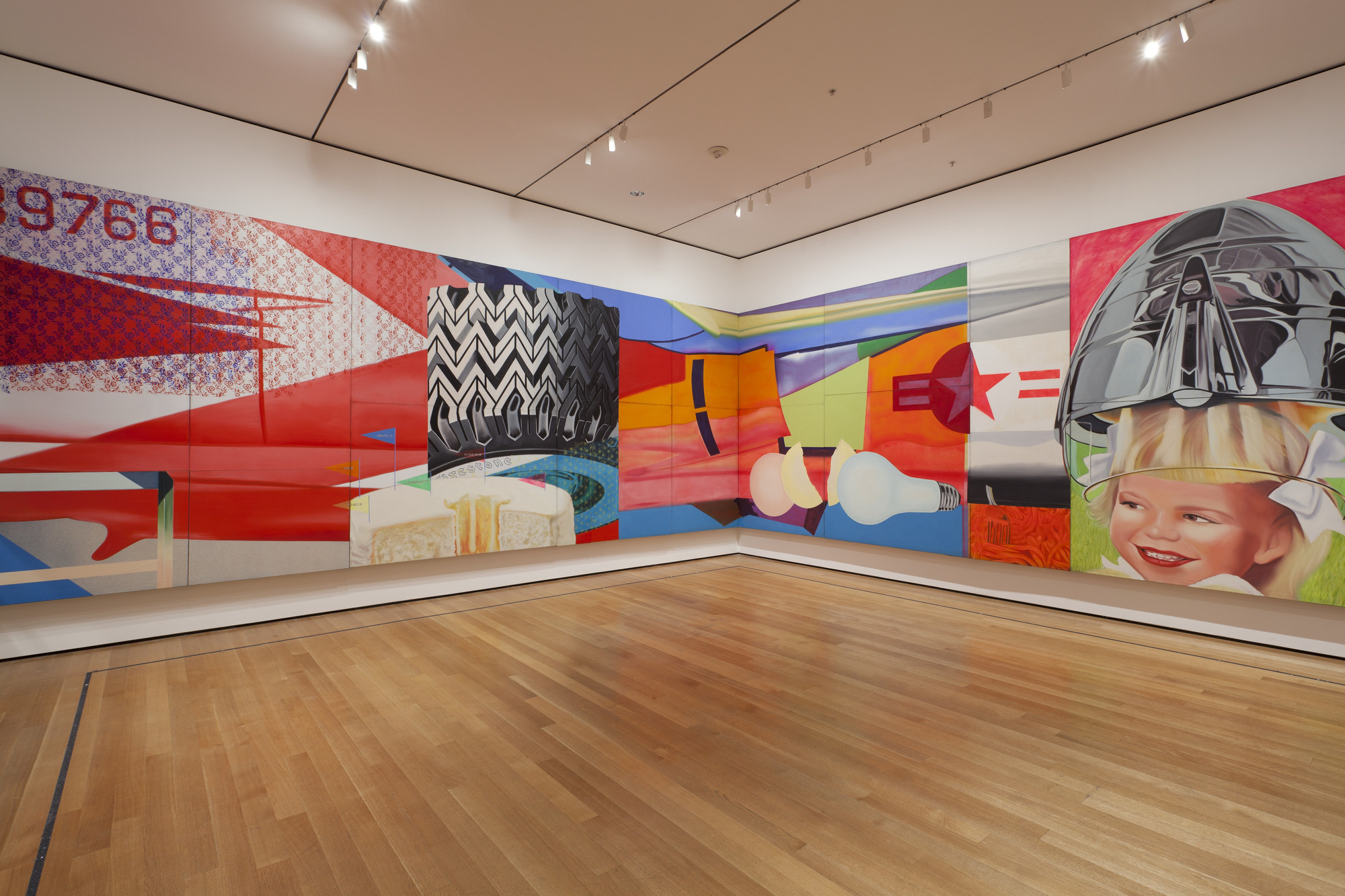 James Rosenquist. F-111. 1964-65