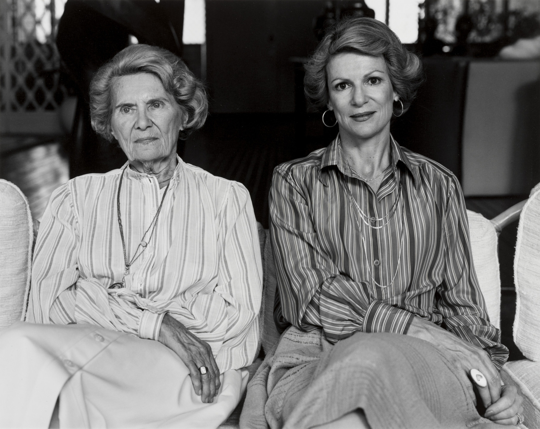 Gay Block. Mother and Daughter, Esther and Joan. 1978