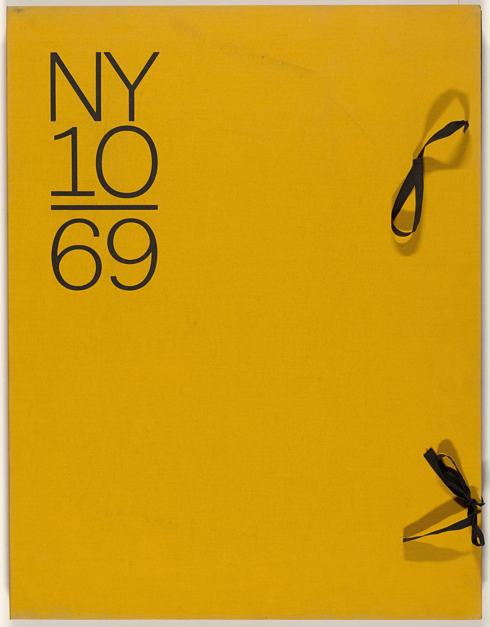 Various Artists, Peter Young, Lawrence Stafford, Kenneth Showell, William Pettet, Brice Marden, Lee Lozano, Ronnie Landfield, David Diao, Alan Cote, Alan Shields. New York l0/69. 1968-69, published 1969