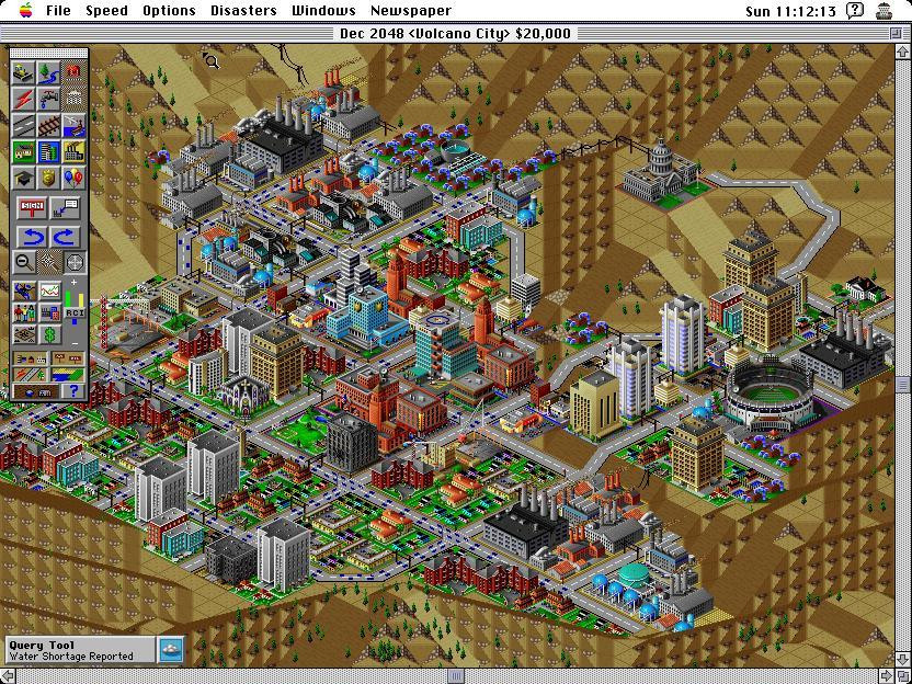 Will Wright. SimCity 2000. 1993