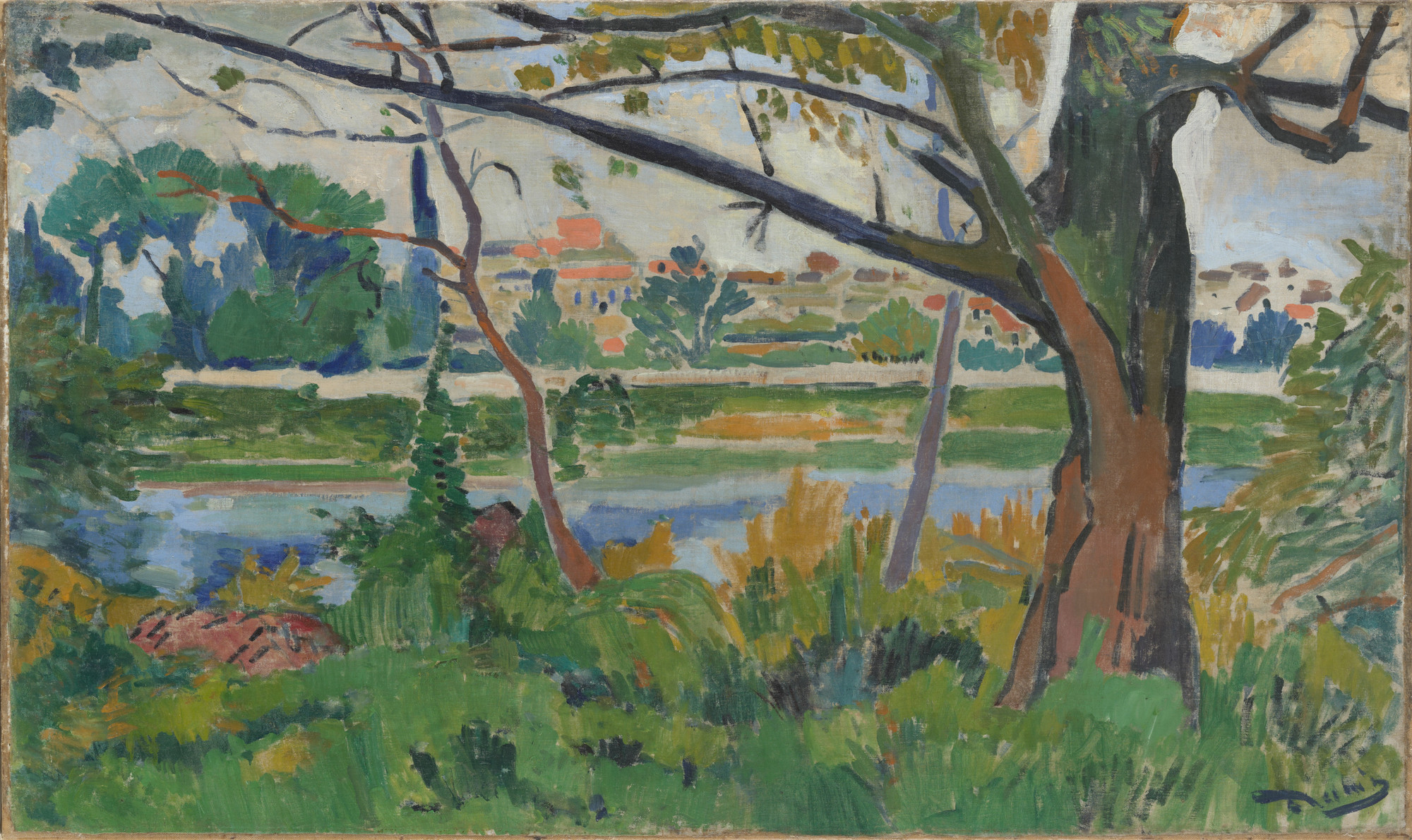 André Derain. The Seine at Chatou. 1906