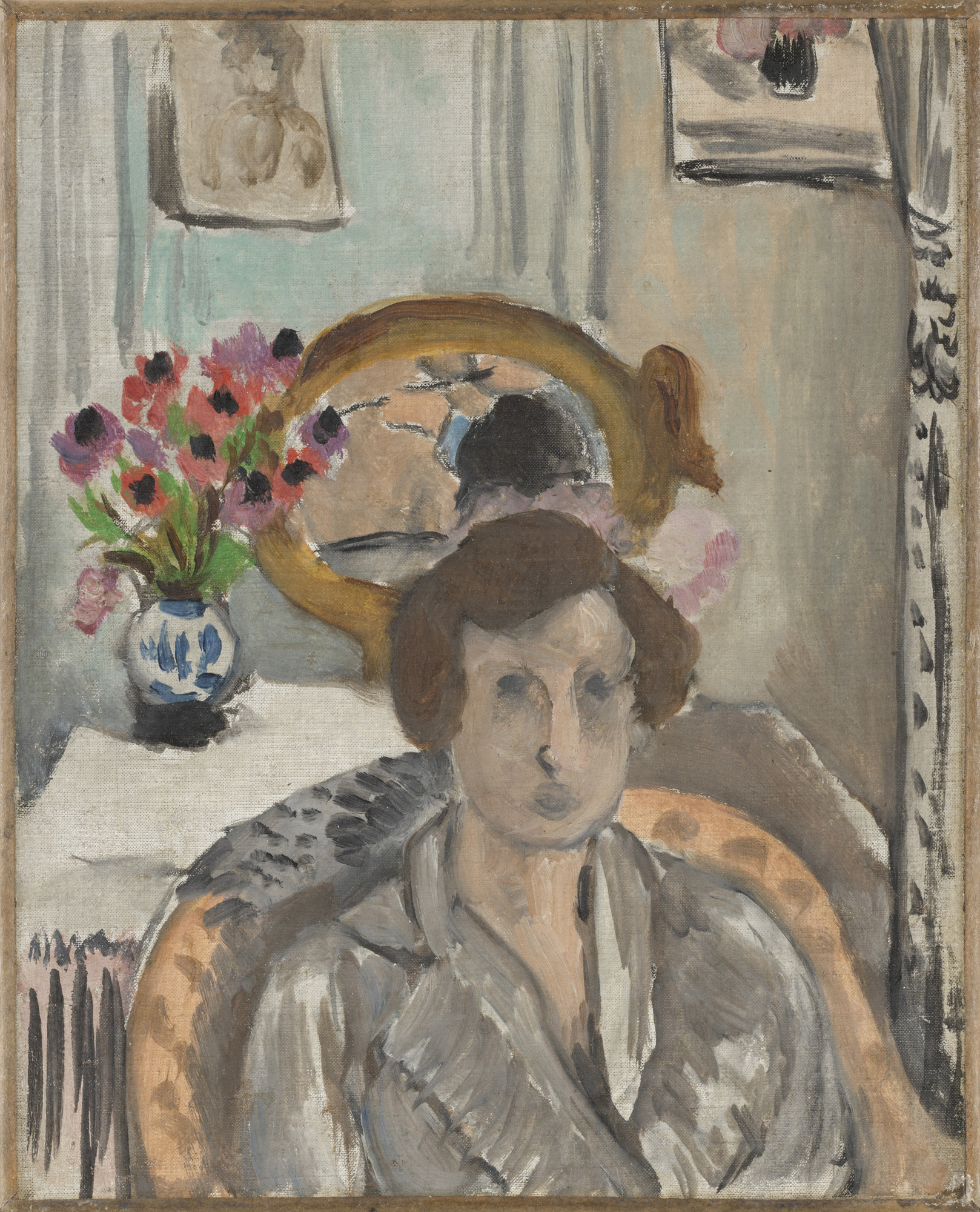 Henri Matisse. Woman with Anemones. c. 1919-20