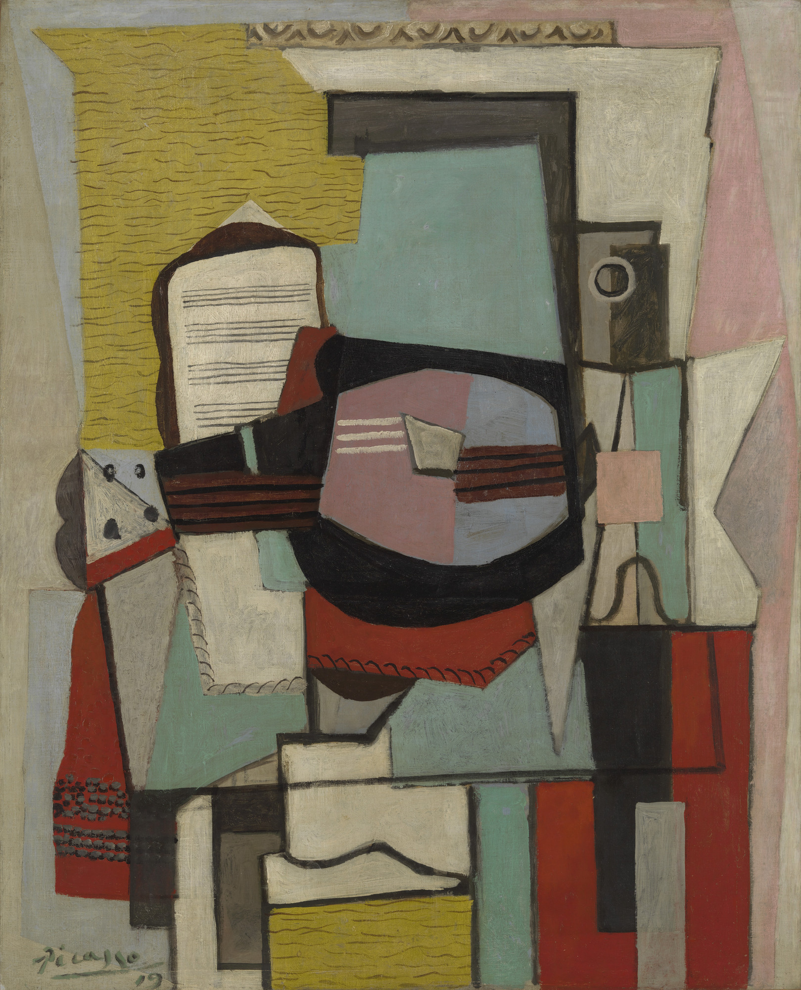 Pablo Picasso. The Guitar. 1919