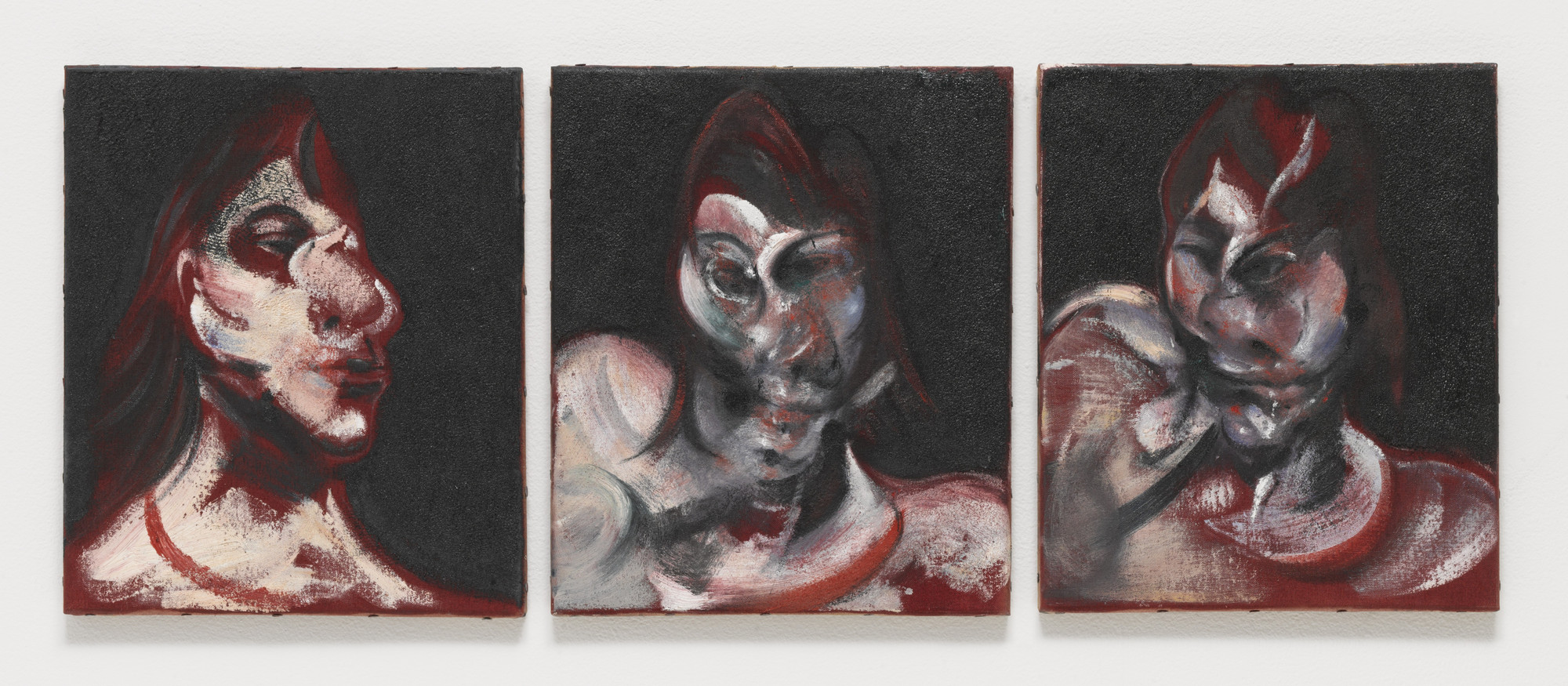 Francis Bacon. Three Studies for the Portrait of Henrietta Moraes. 1963