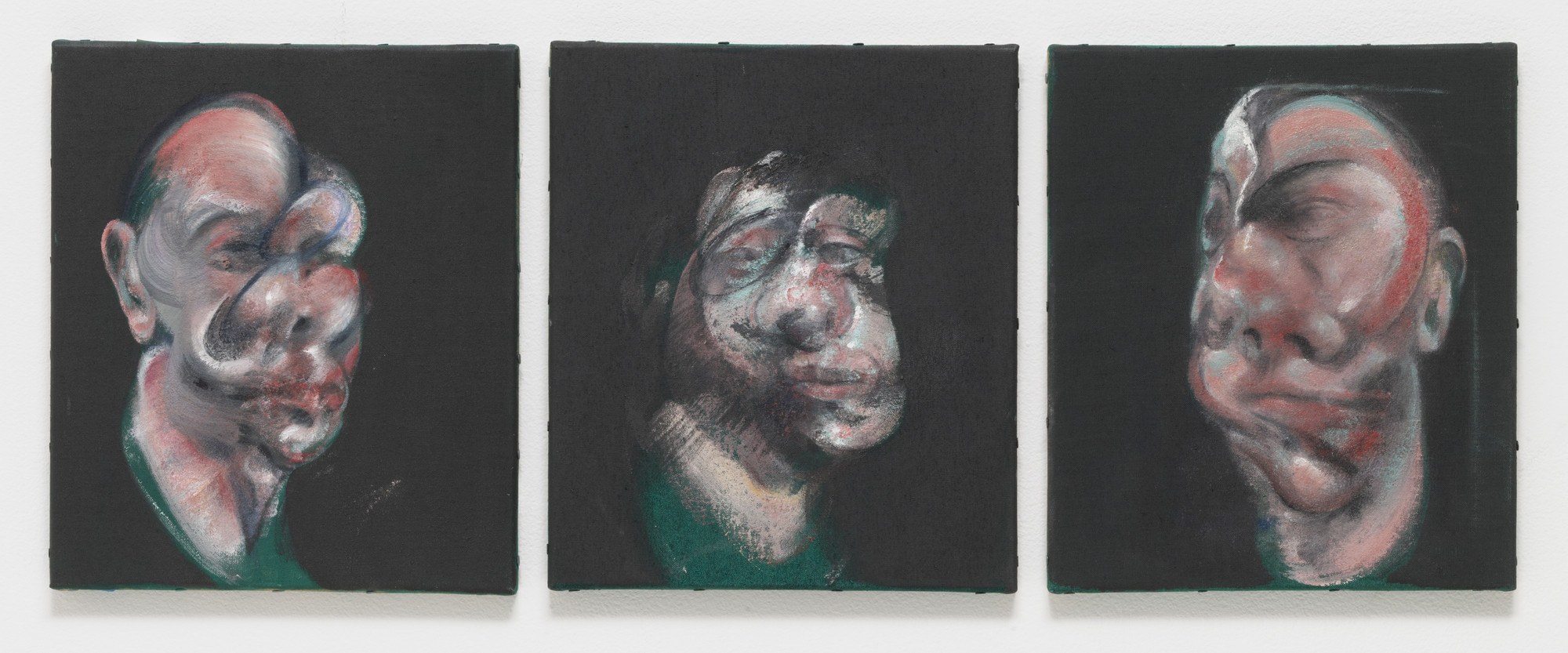 Francis Bacon. Study for Three Heads. 1962