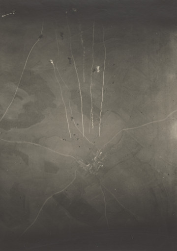 Unknown photographer (U.S. Army Signal Corps, under the command of Edward Steichen). Aerial Incendiary Bombs. 1917–18