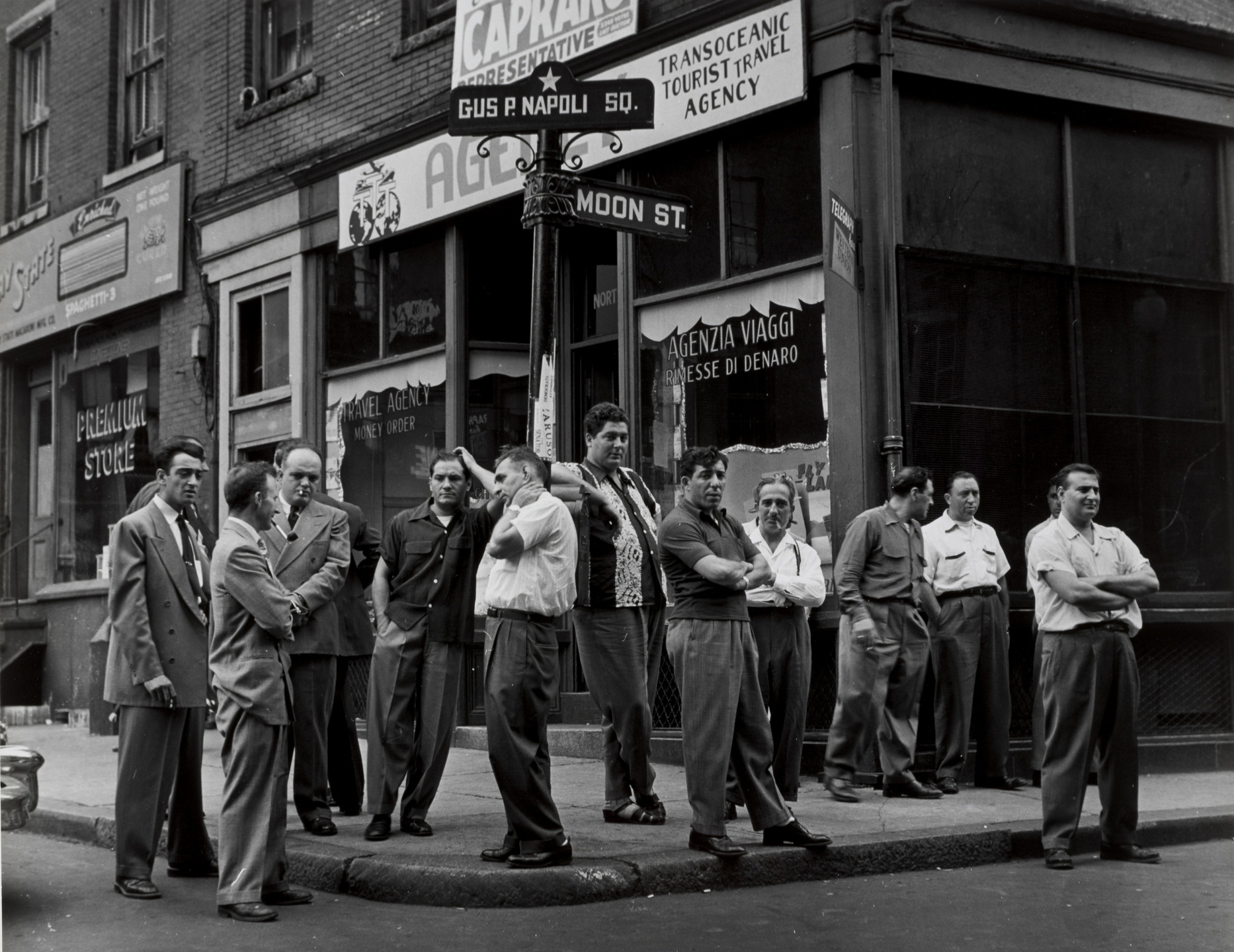 Jules Aarons. The Waiting, Boston. 1952
