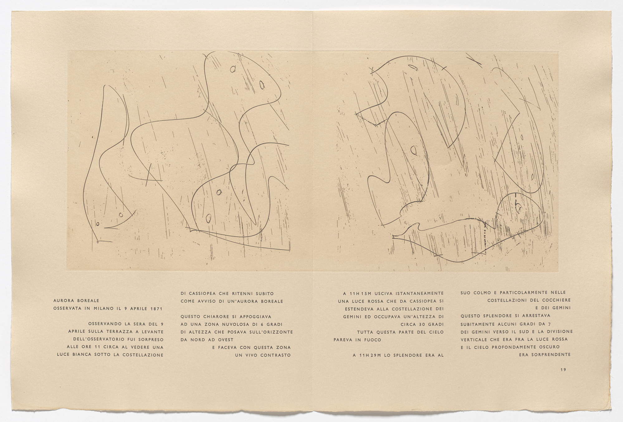 Max Ernst. In-text plate (page 19) from 65 Maximiliana or the ... on page title,