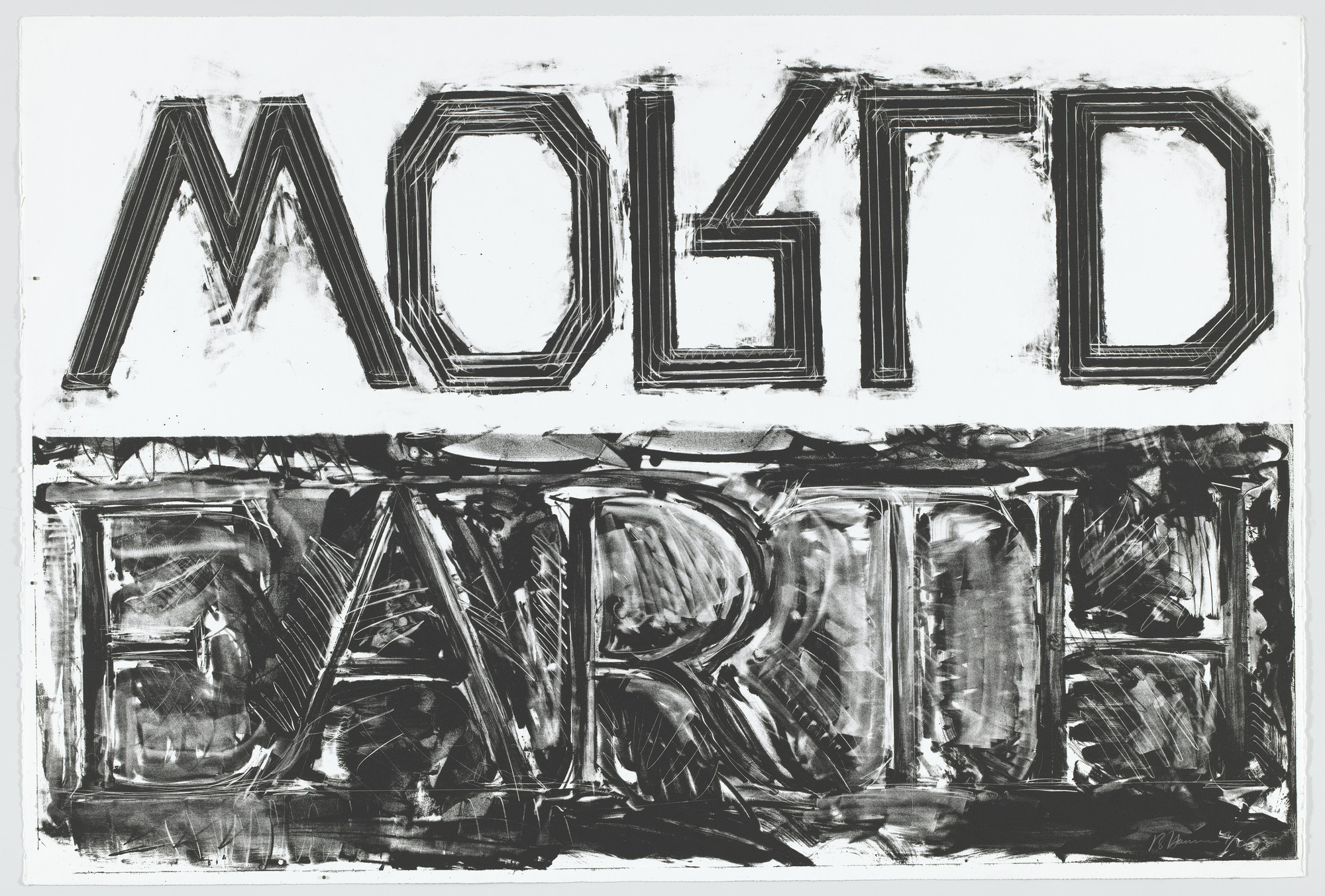 Bruce Nauman. Earth–World. 1985