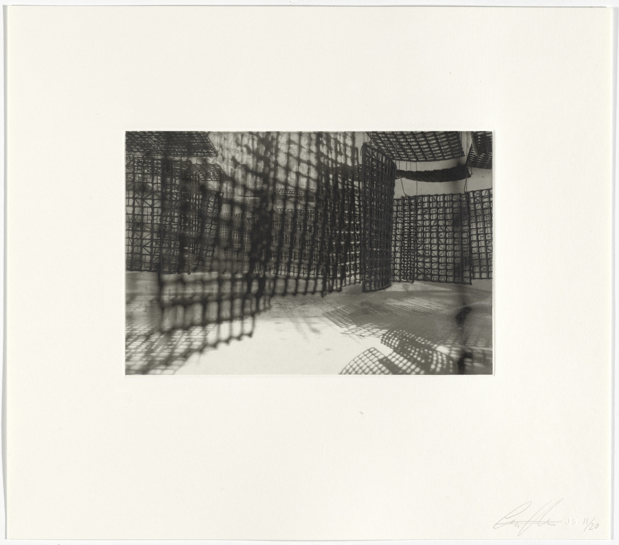 Cristina Iglesias. Untitled from Hanging Corridors. 2008
