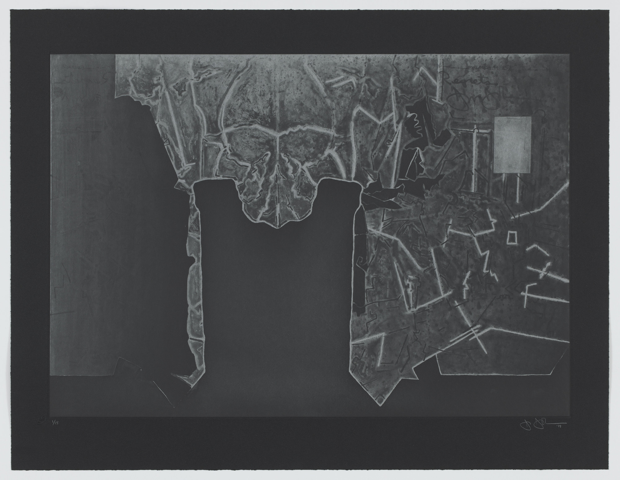 Jasper Johns. Regrets. 2014