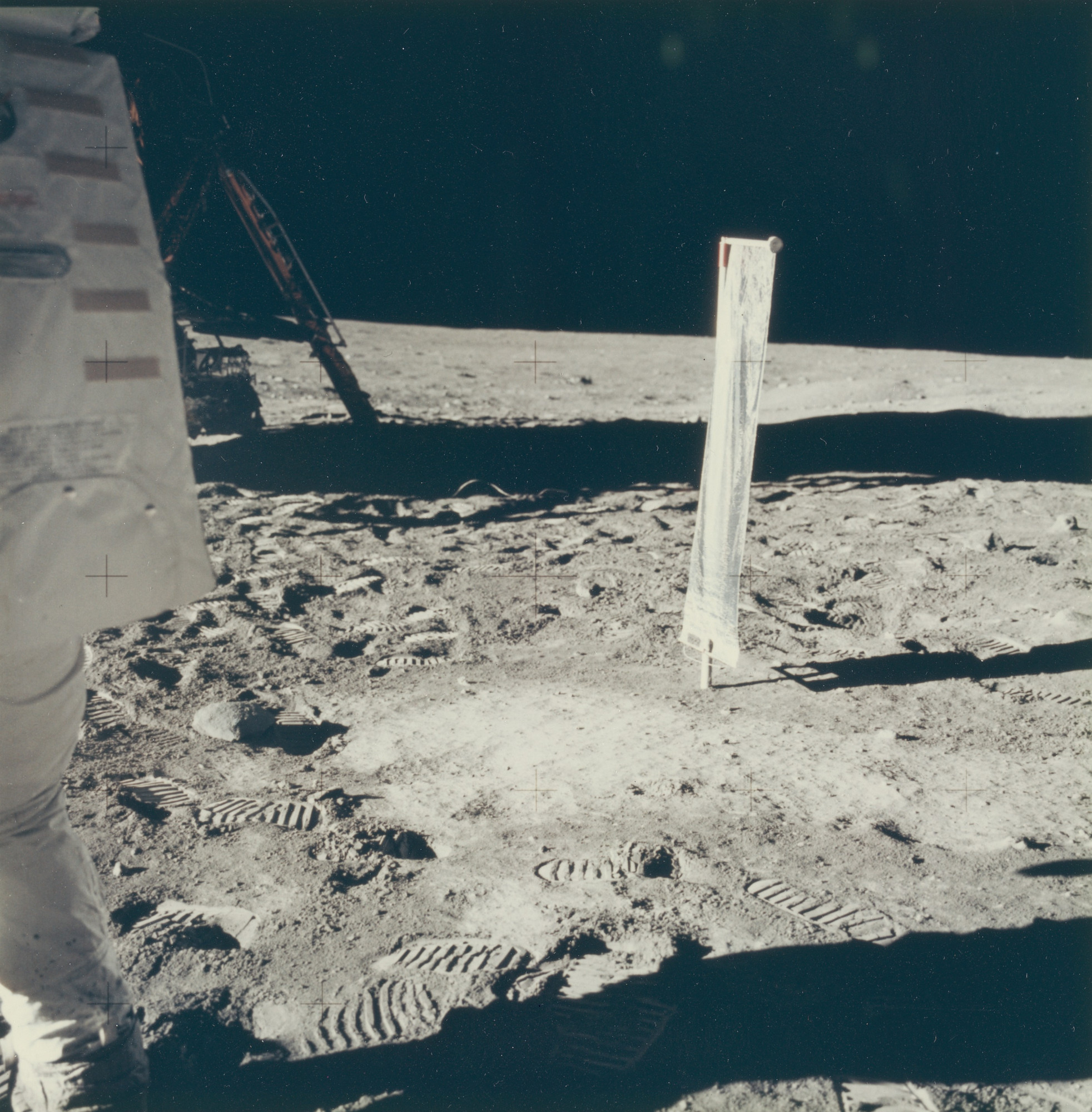 NASA. Untitled photograph from the Apollo 11 mission. July 20, 1969
