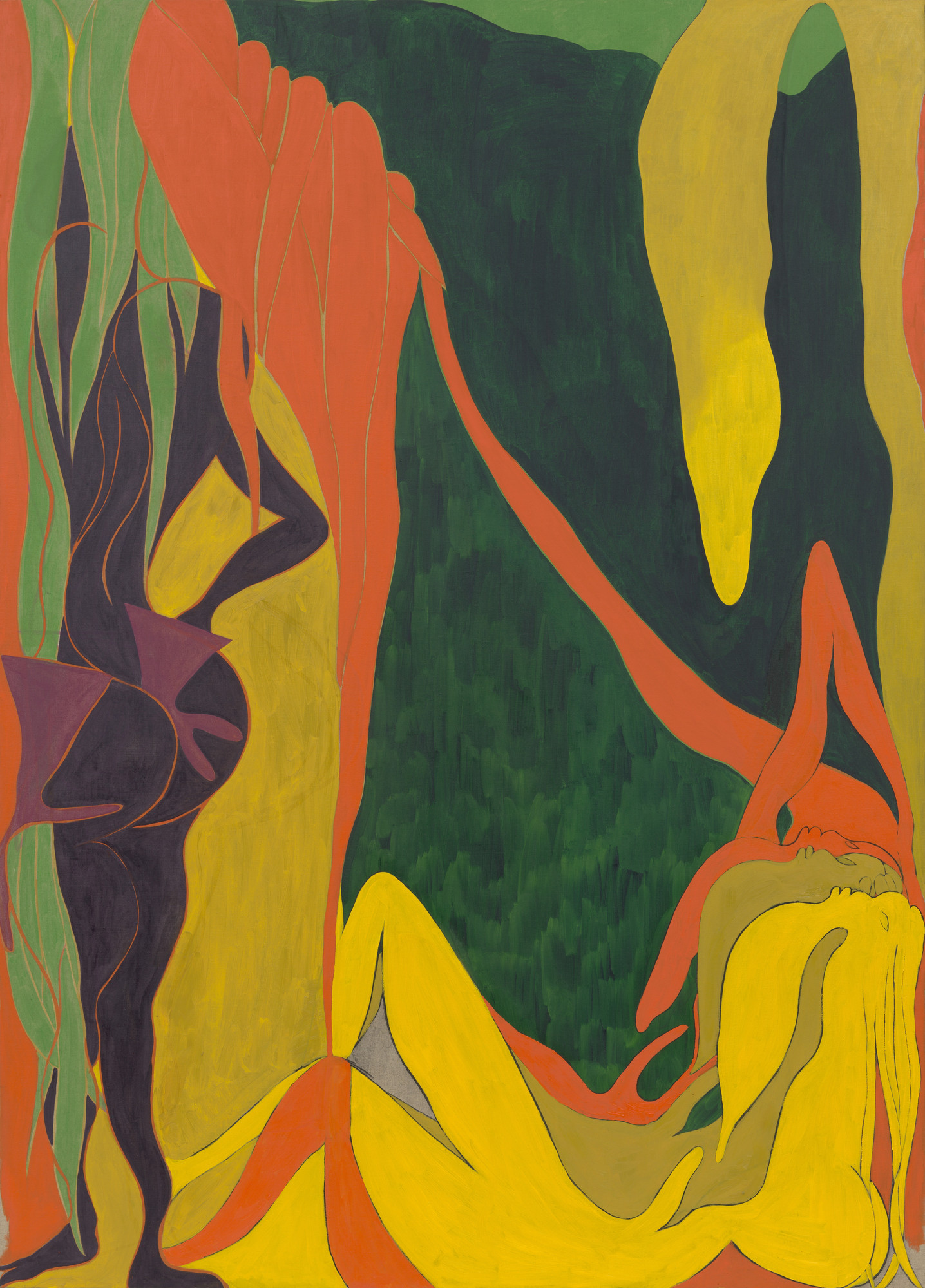 Chris Ofili. The Raising of Lazarus. 2007