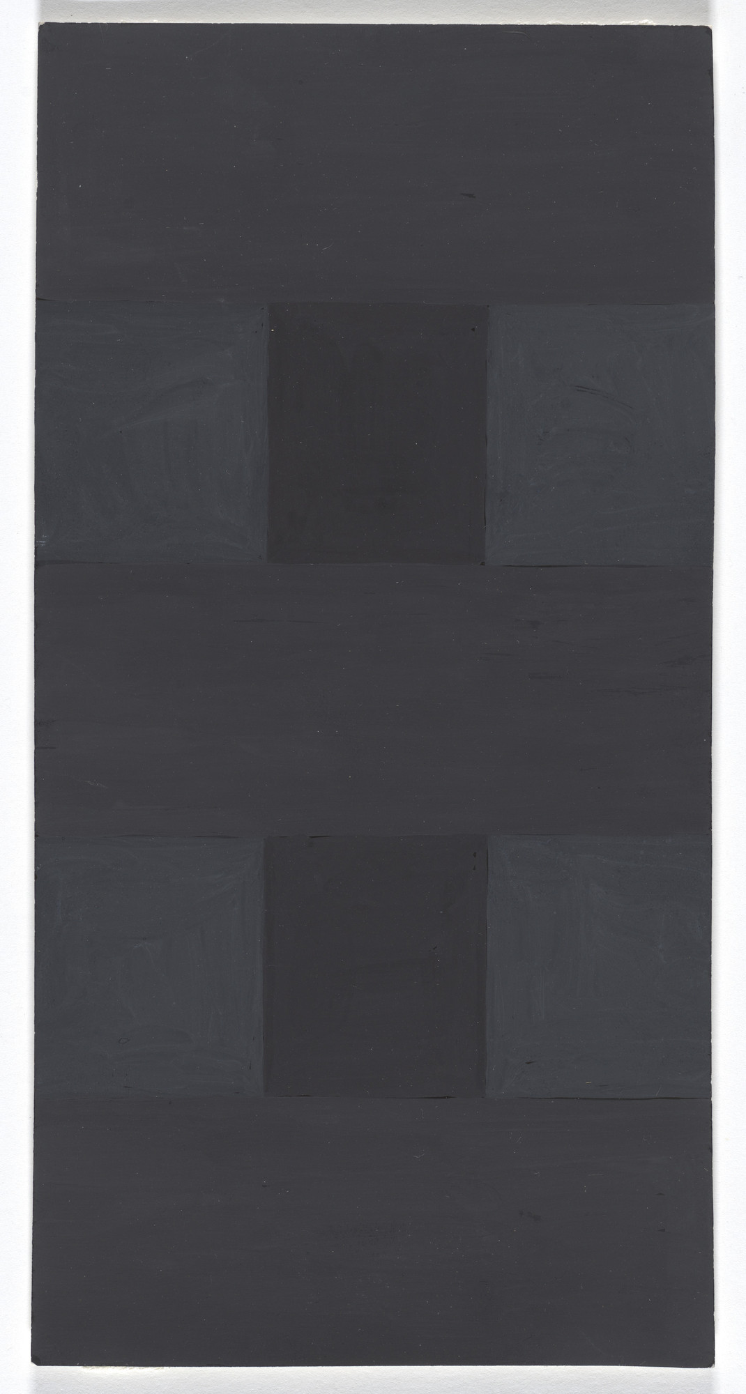 Ad Reinhardt. Abstract Painting. c. 1966