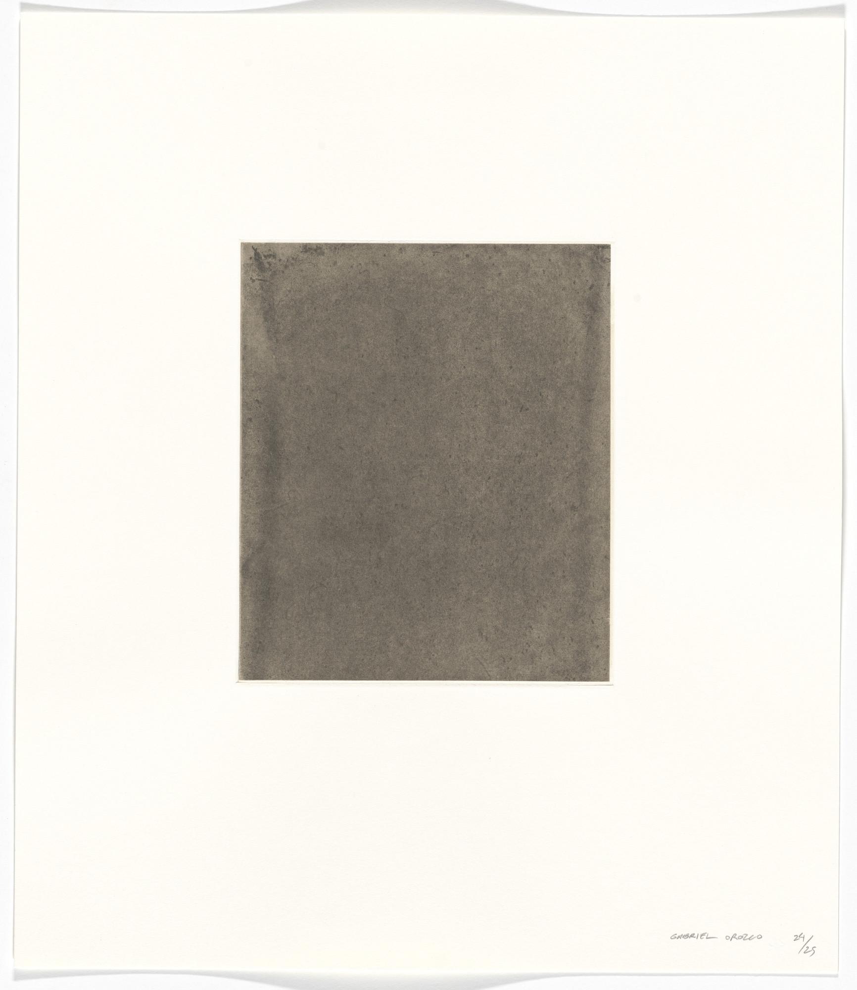 Gabriel Orozco. Untitled from Polvo Impreso (Lint Book). 2002 | MoMA