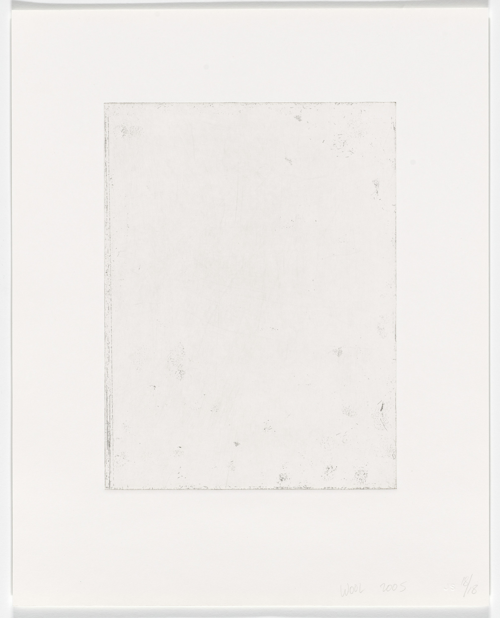 Christopher Wool. Untitled from 6+4. 2005