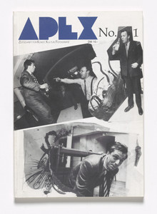 Apex. Zeitschrift für Kunst, Kultur, Fotografie, no. 1