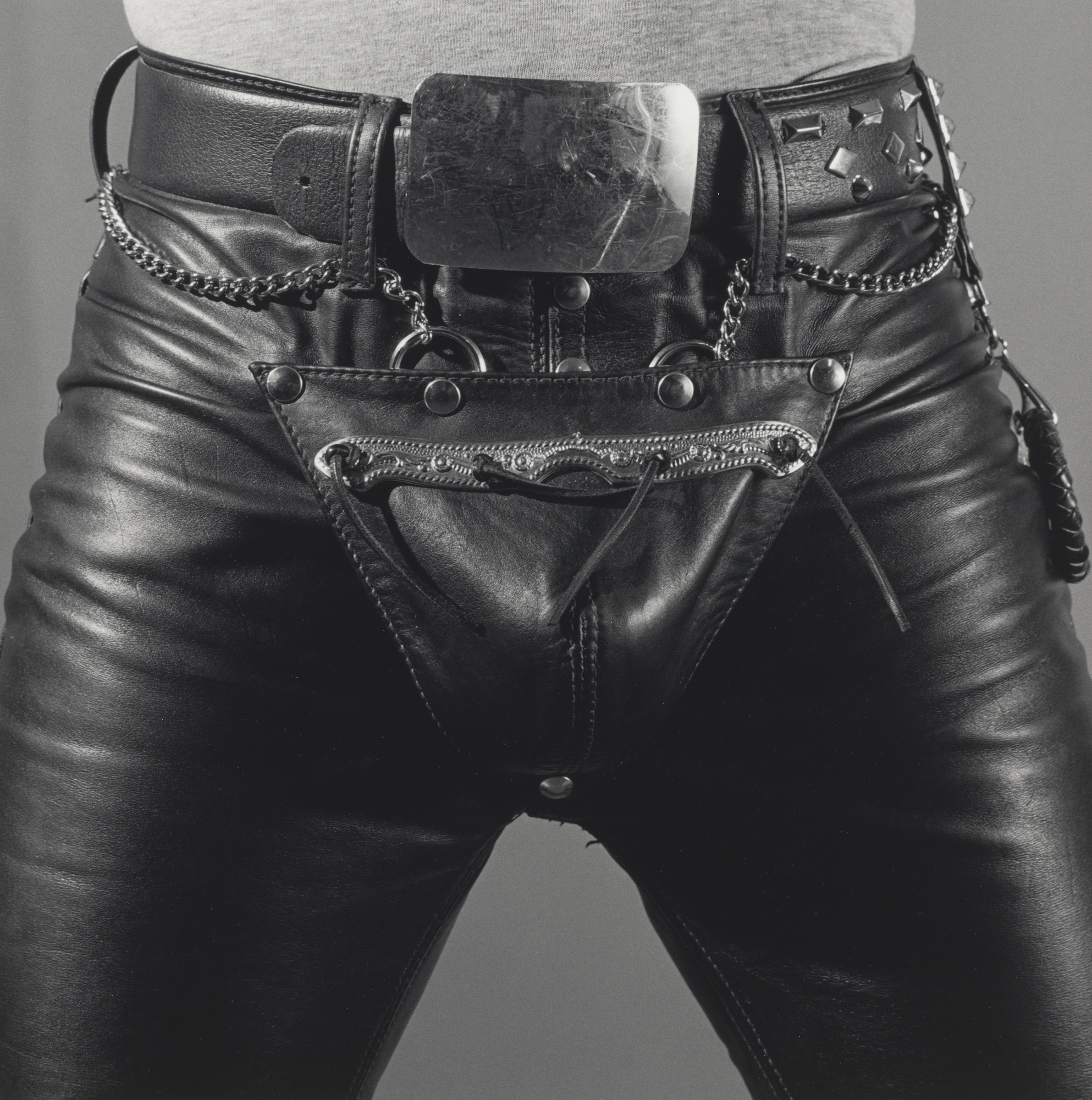 Robert Mapplethorpe. Leather Crotch. 1980
