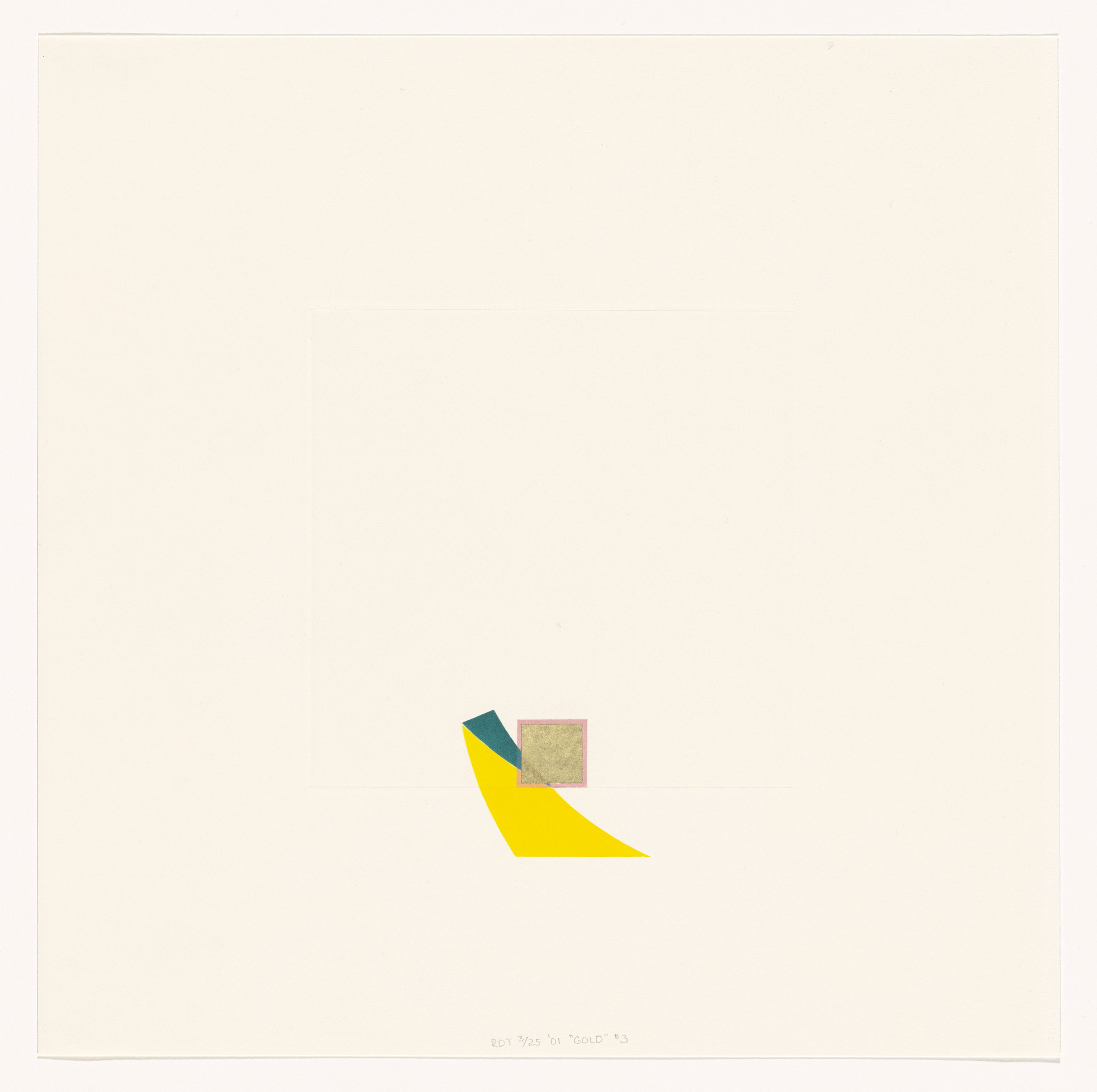 Richard Tuttle. Untitled from Gold. 2001